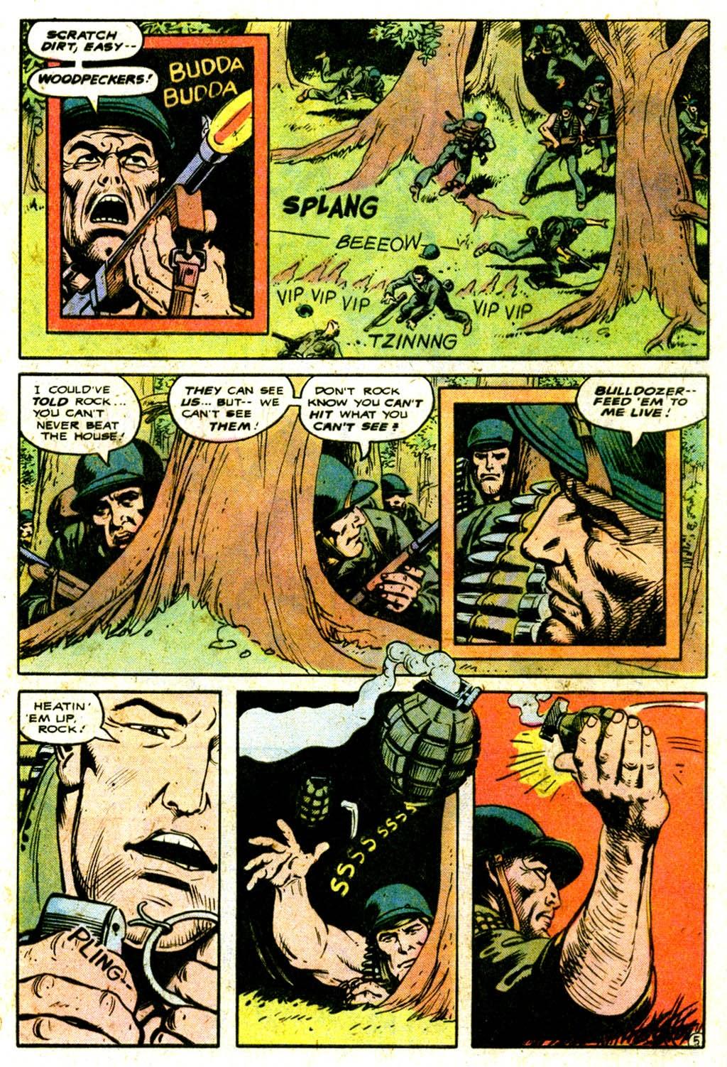 Read online Sgt. Rock comic -  Issue #316 - 9