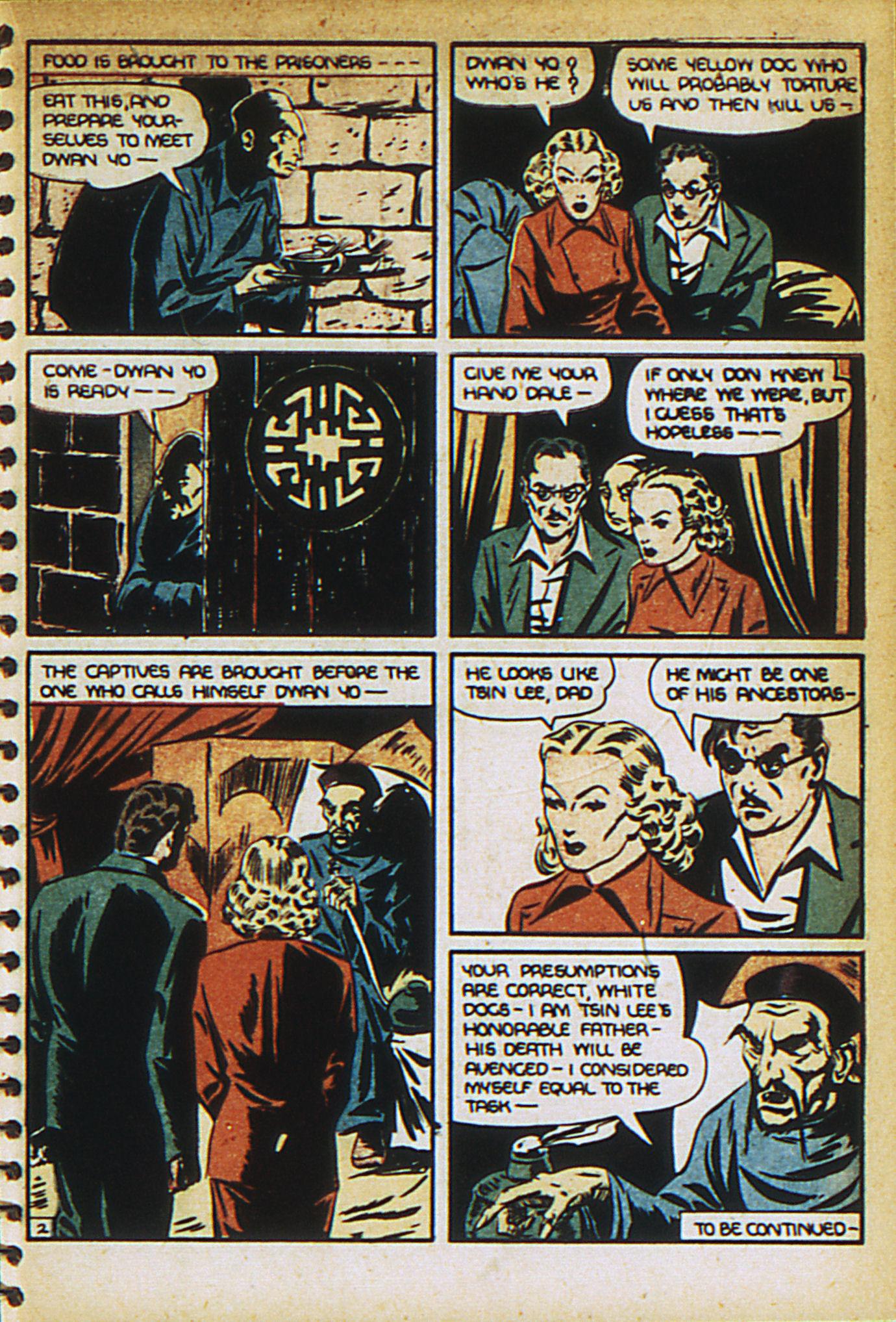 Read online Adventure Comics (1938) comic -  Issue #27 - 35