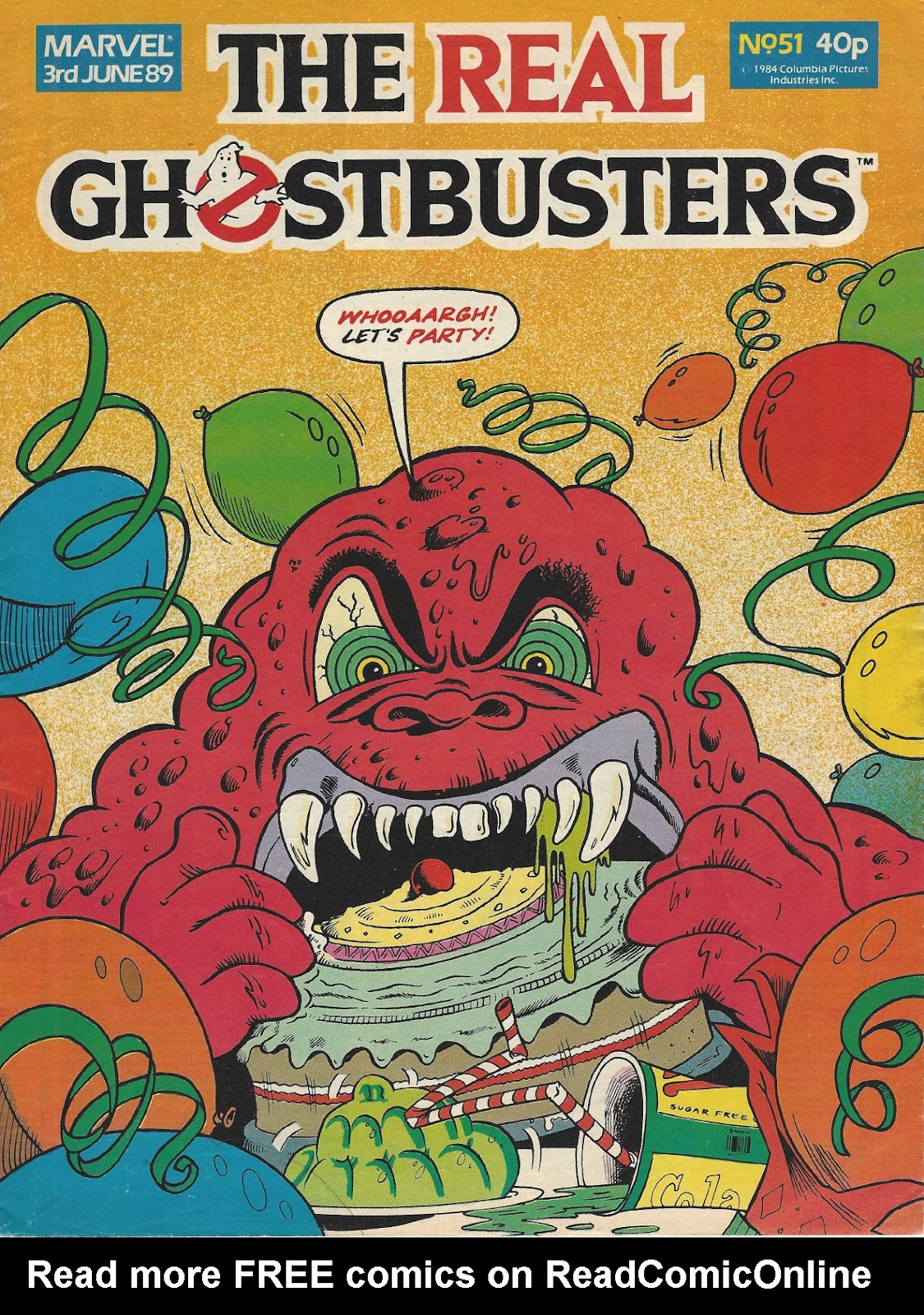 The Real Ghostbusters 51 Page 1