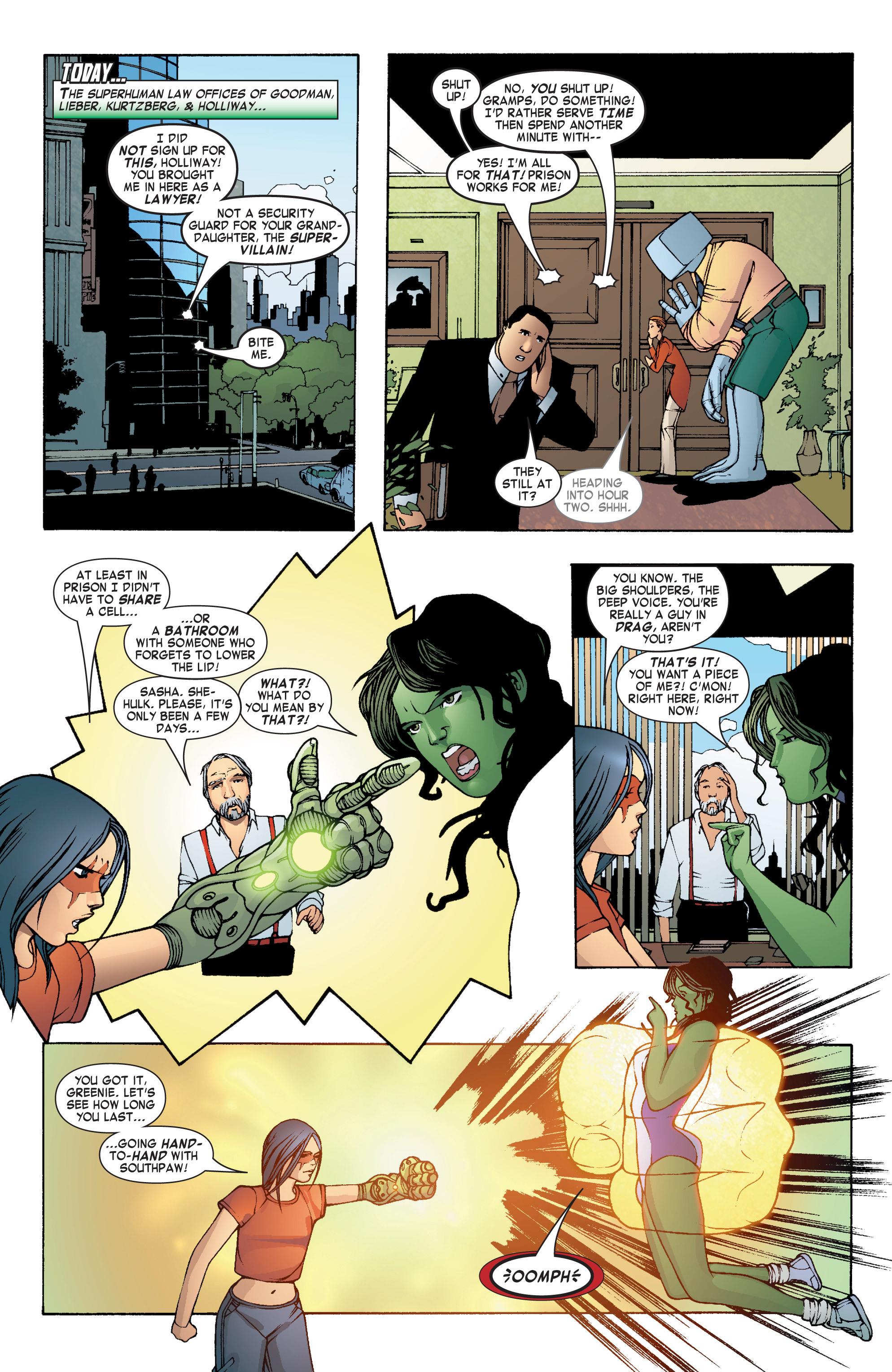 Read online She-Hulk (2004) comic -  Issue #7 - 5