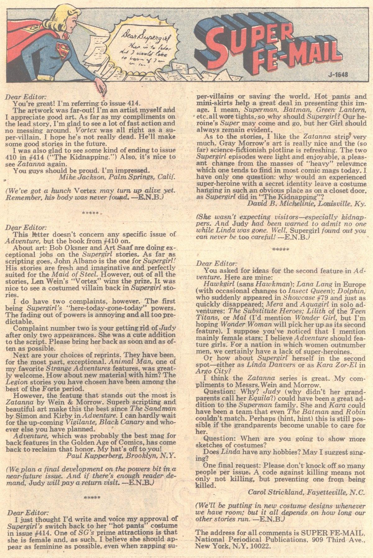 Read online Adventure Comics (1938) comic -  Issue #419 - 15
