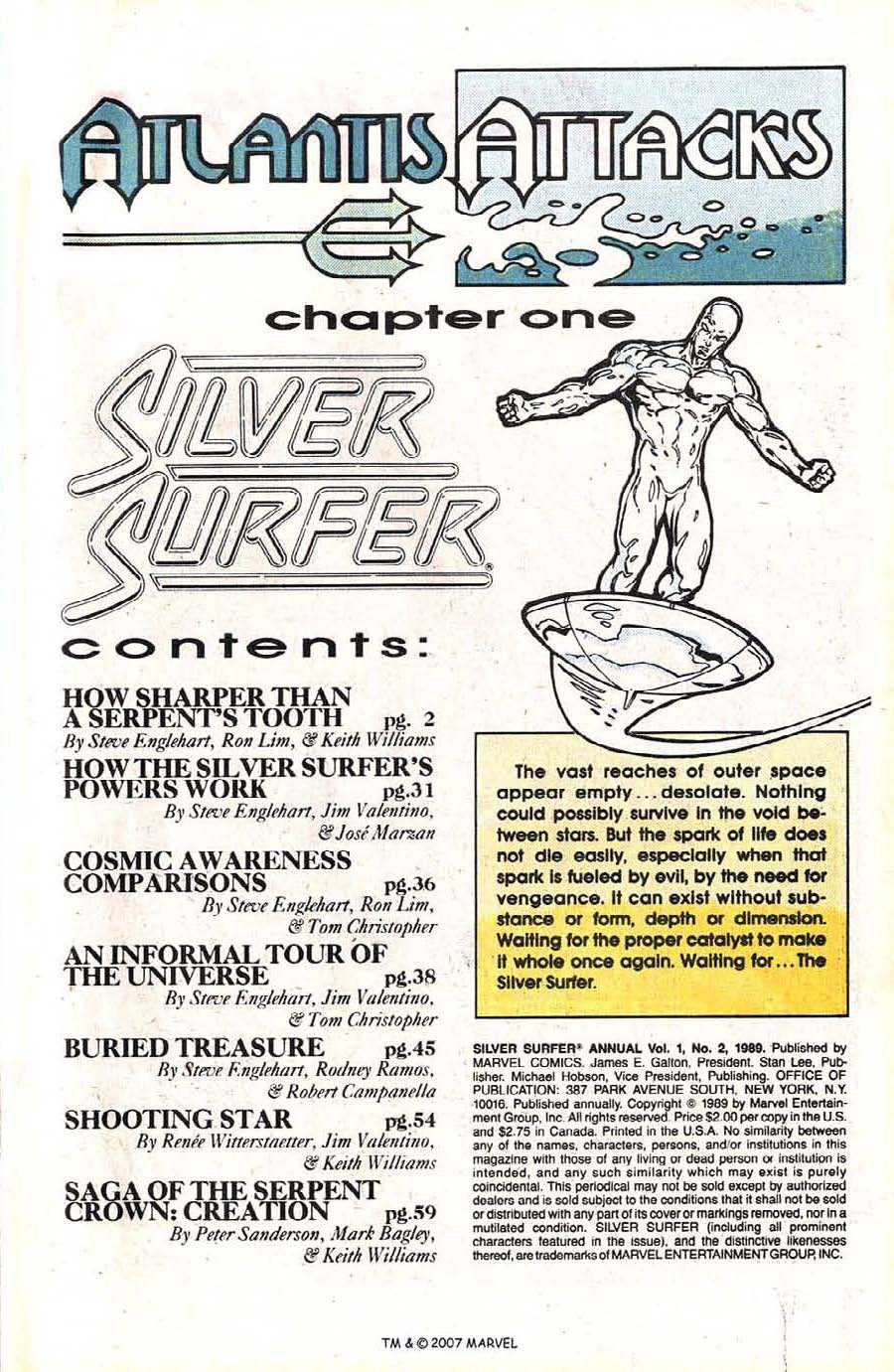 Read online Silver Surfer (1987) comic -  Issue # _Annual 2 - 3