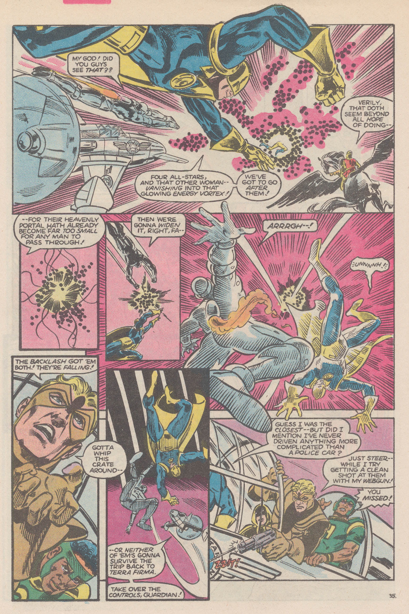 Read online All-Star Squadron comic -  Issue #50 - 41