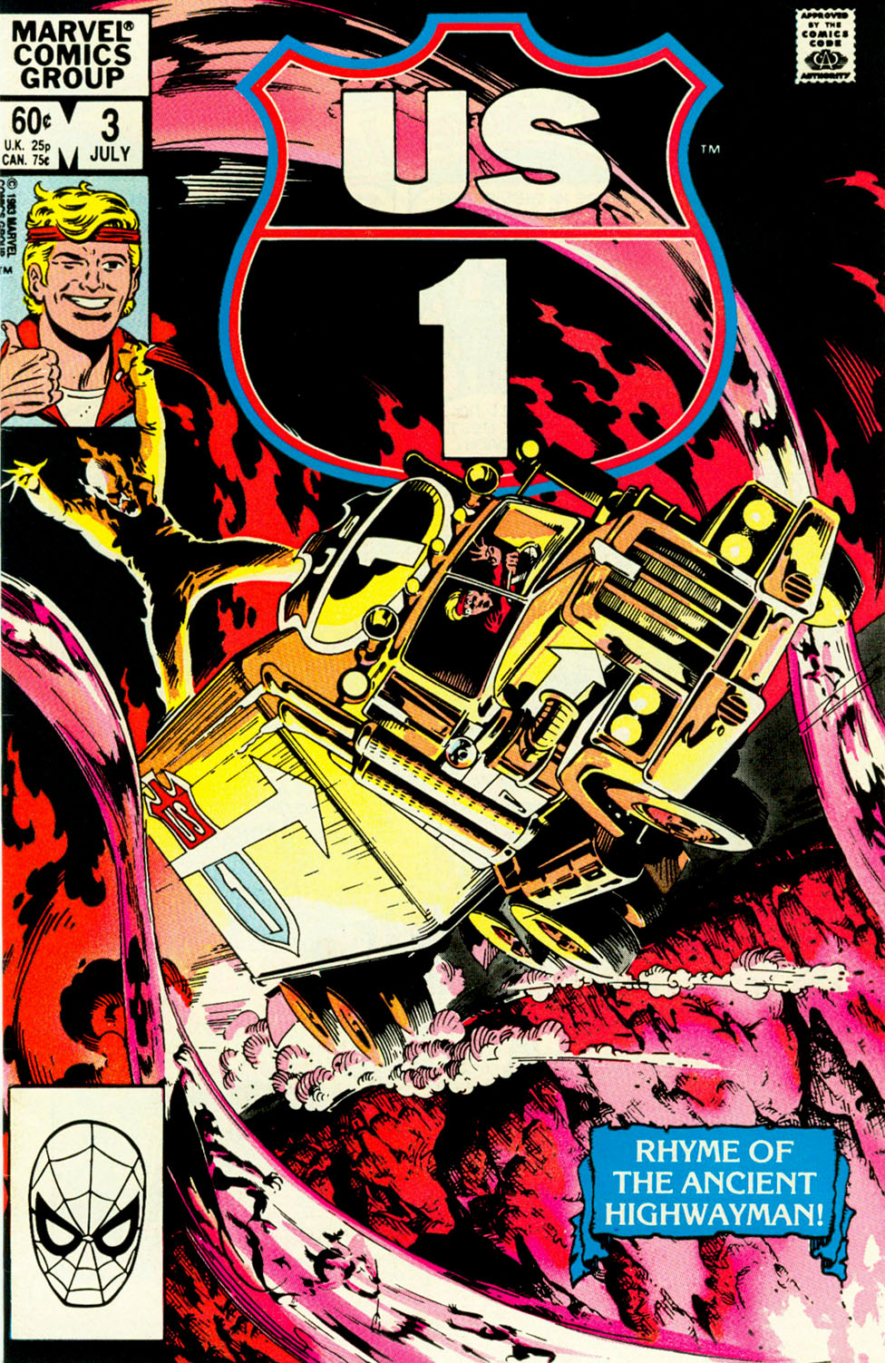 Read online U.S. 1 comic -  Issue #3 - 1