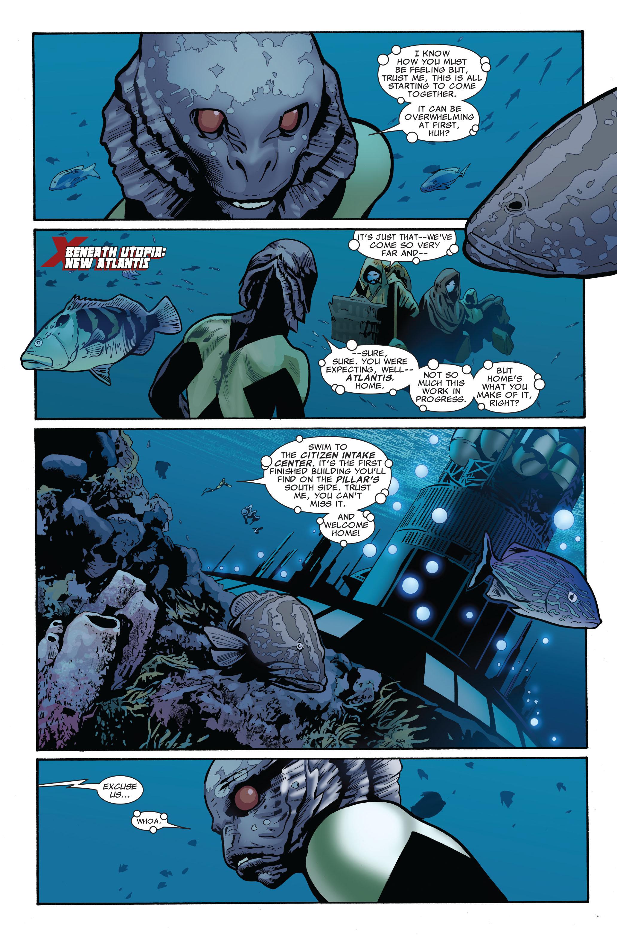 Read online Uncanny X-Men (1963) comic -  Issue #521 - 10