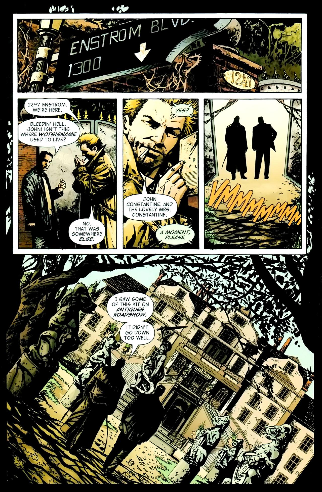 Read online John Constantine Hellblazer: All His Engines comic -  Issue # Full - 36