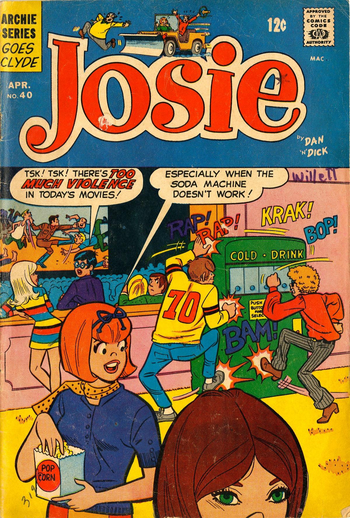 Read online She's Josie comic -  Issue #40 - 1