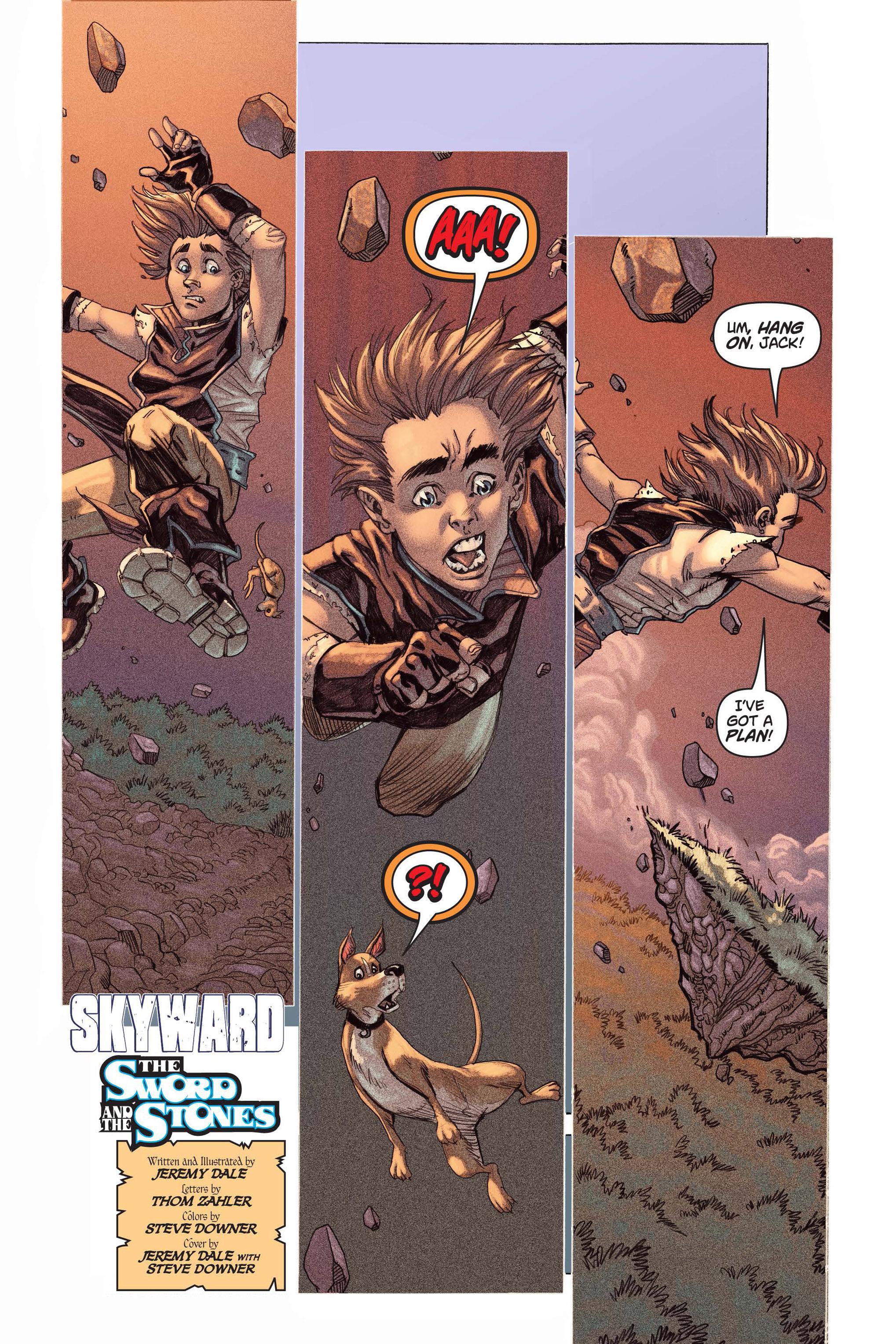 Read online Skyward comic -  Issue #3 - 3