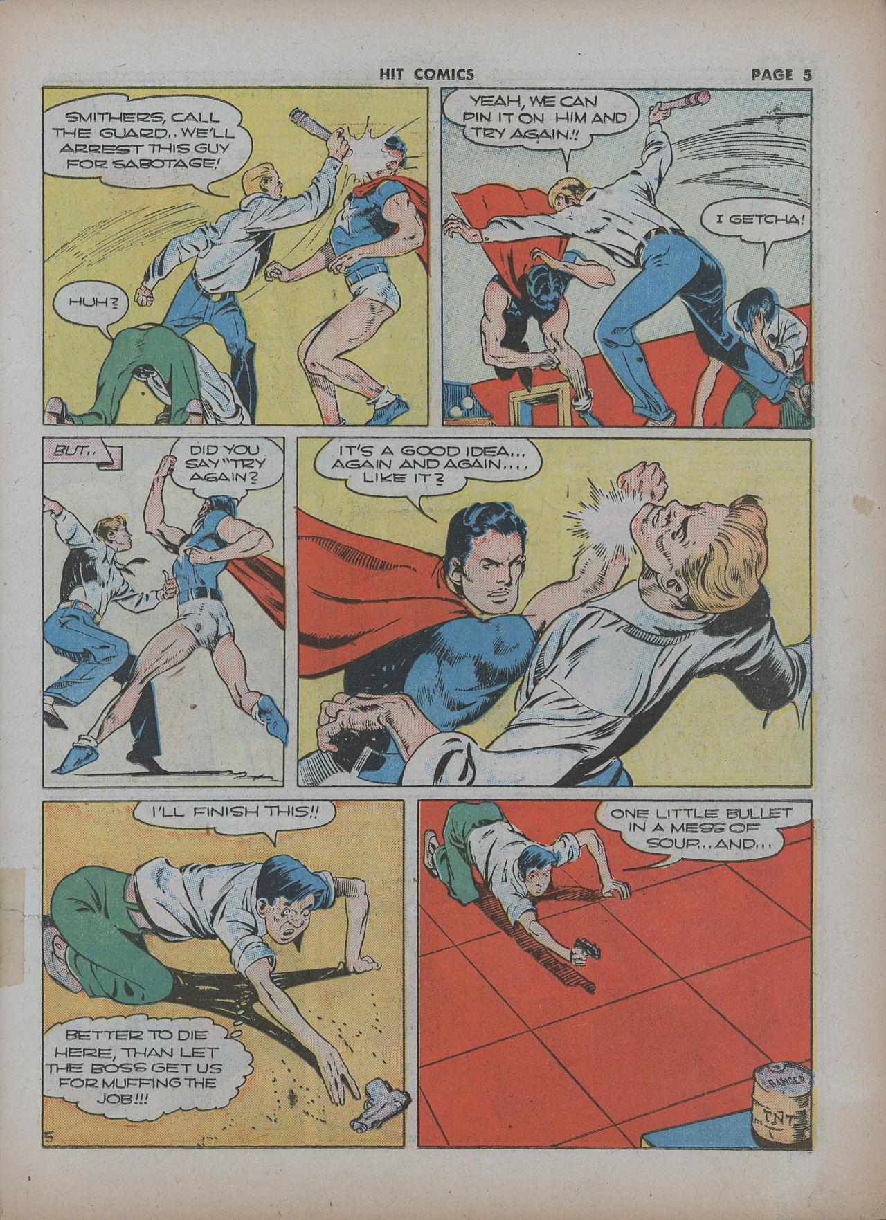 Read online Hit Comics comic -  Issue #22 - 7