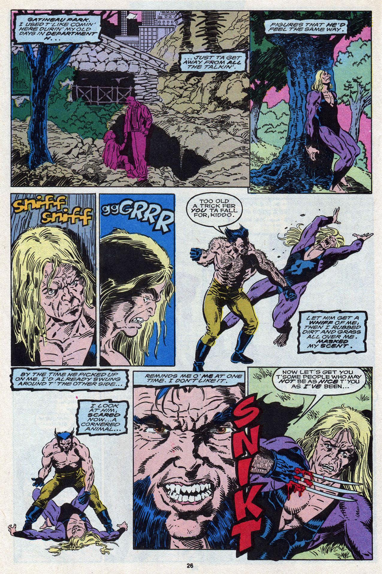 Read online Alpha Flight (1983) comic -  Issue #87 - 27
