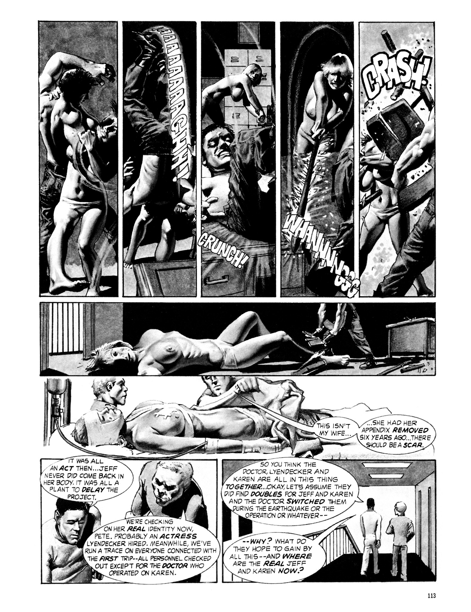 Read online Eerie Archives comic -  Issue # TPB 18 - 114