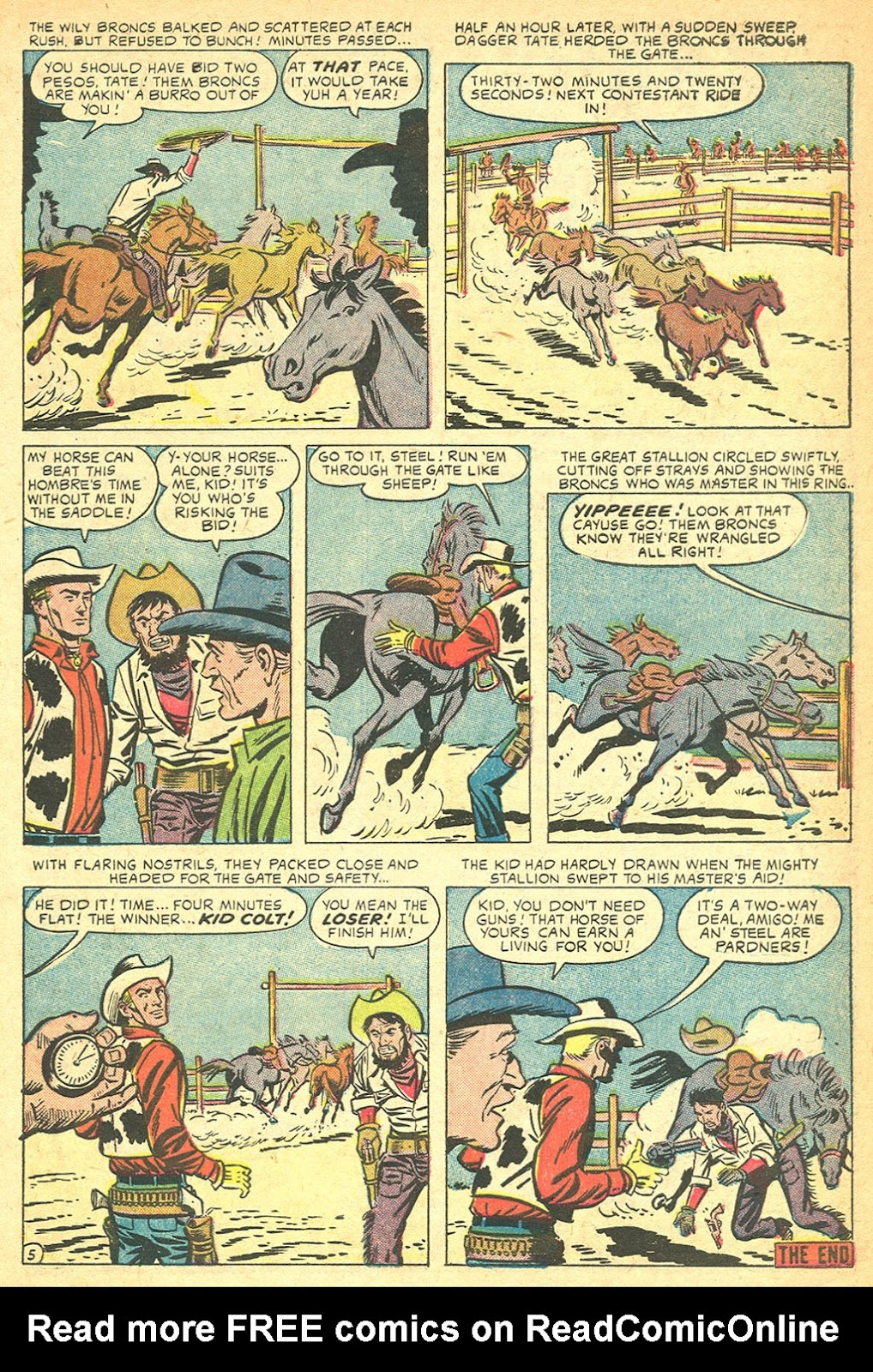 Kid Colt Outlaw issue 60 - Page 7