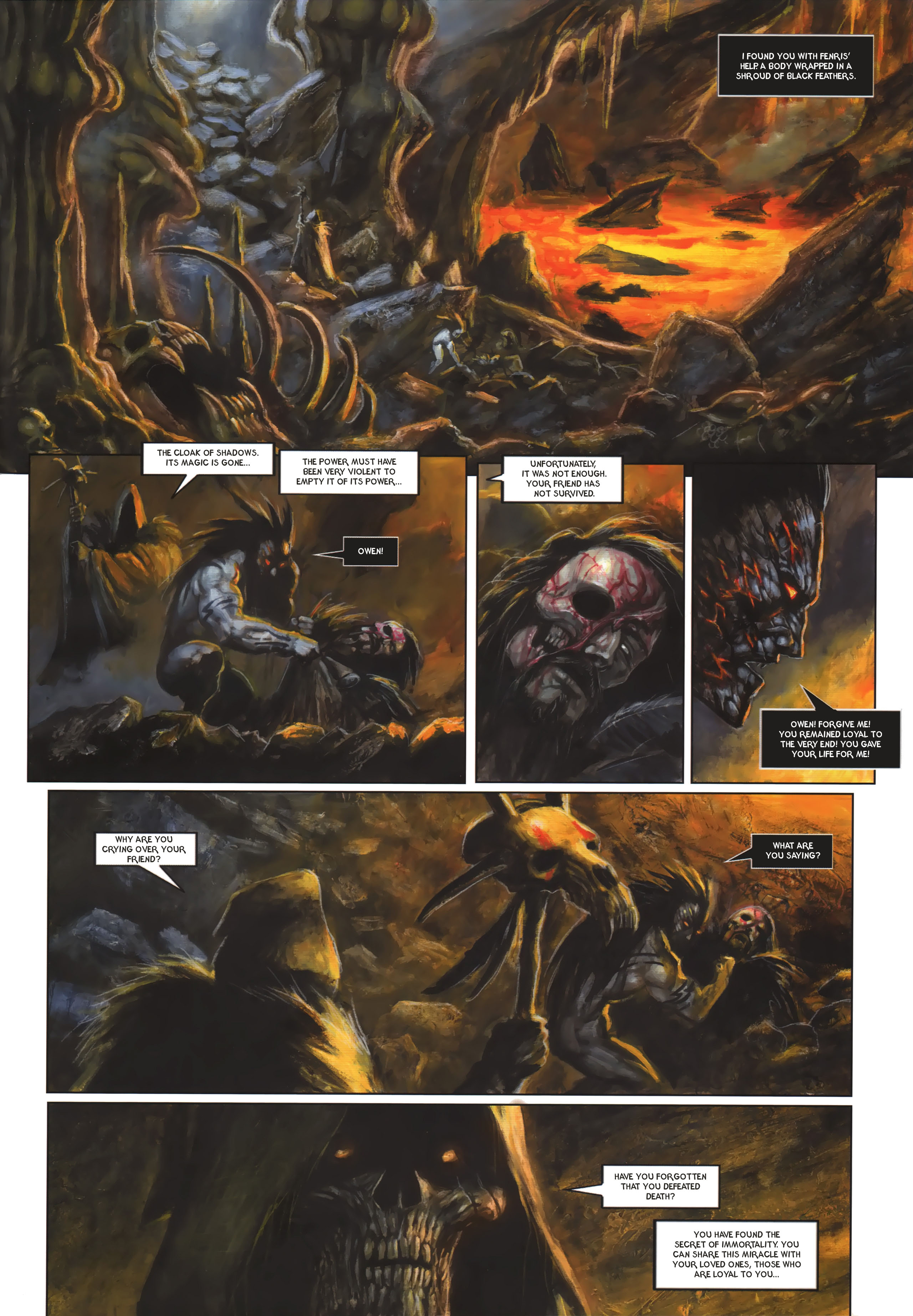 Read online Arawn comic -  Issue #6 - 28