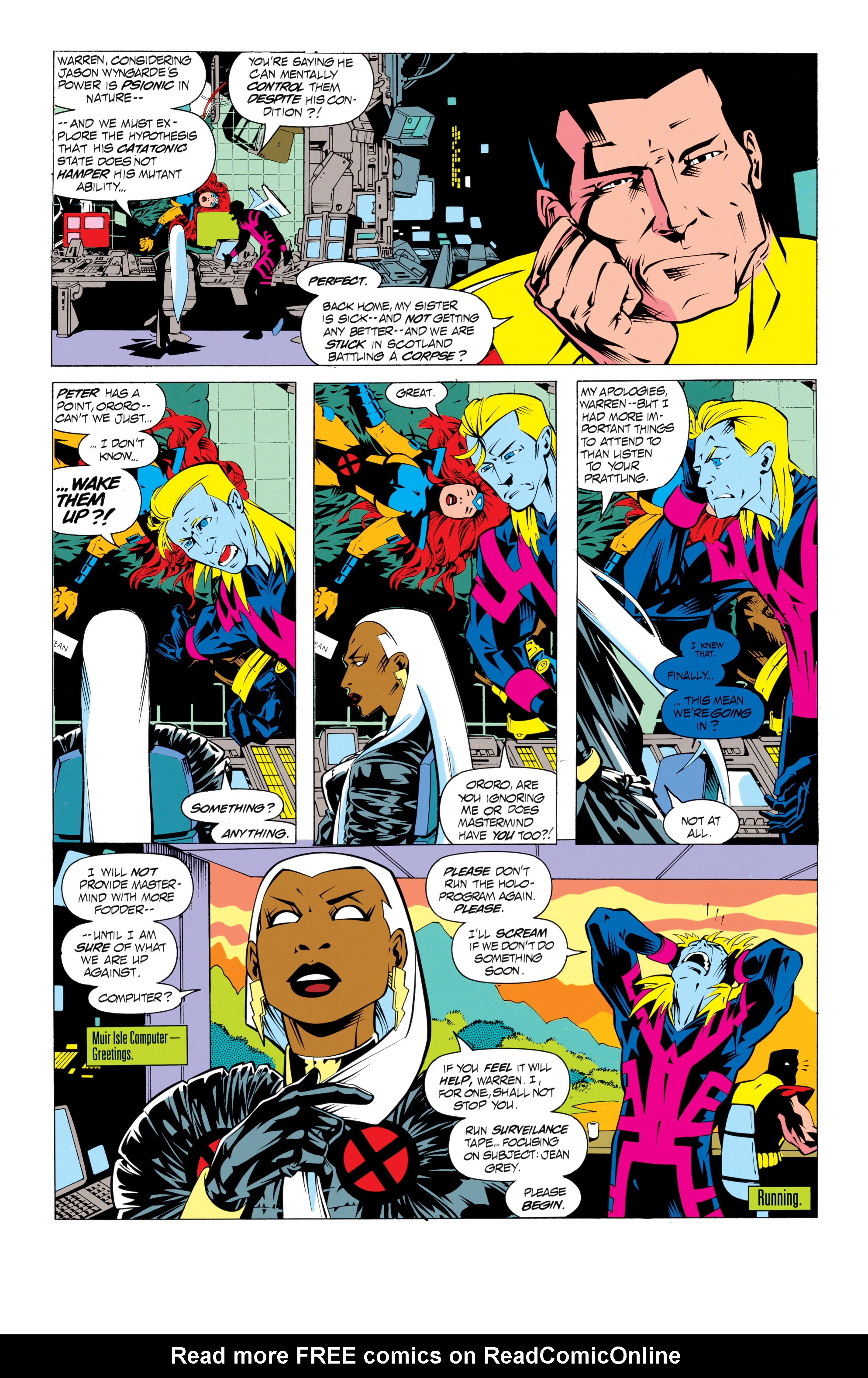Read online Uncanny X-Men (1963) comic -  Issue # _Annual 17 - 17