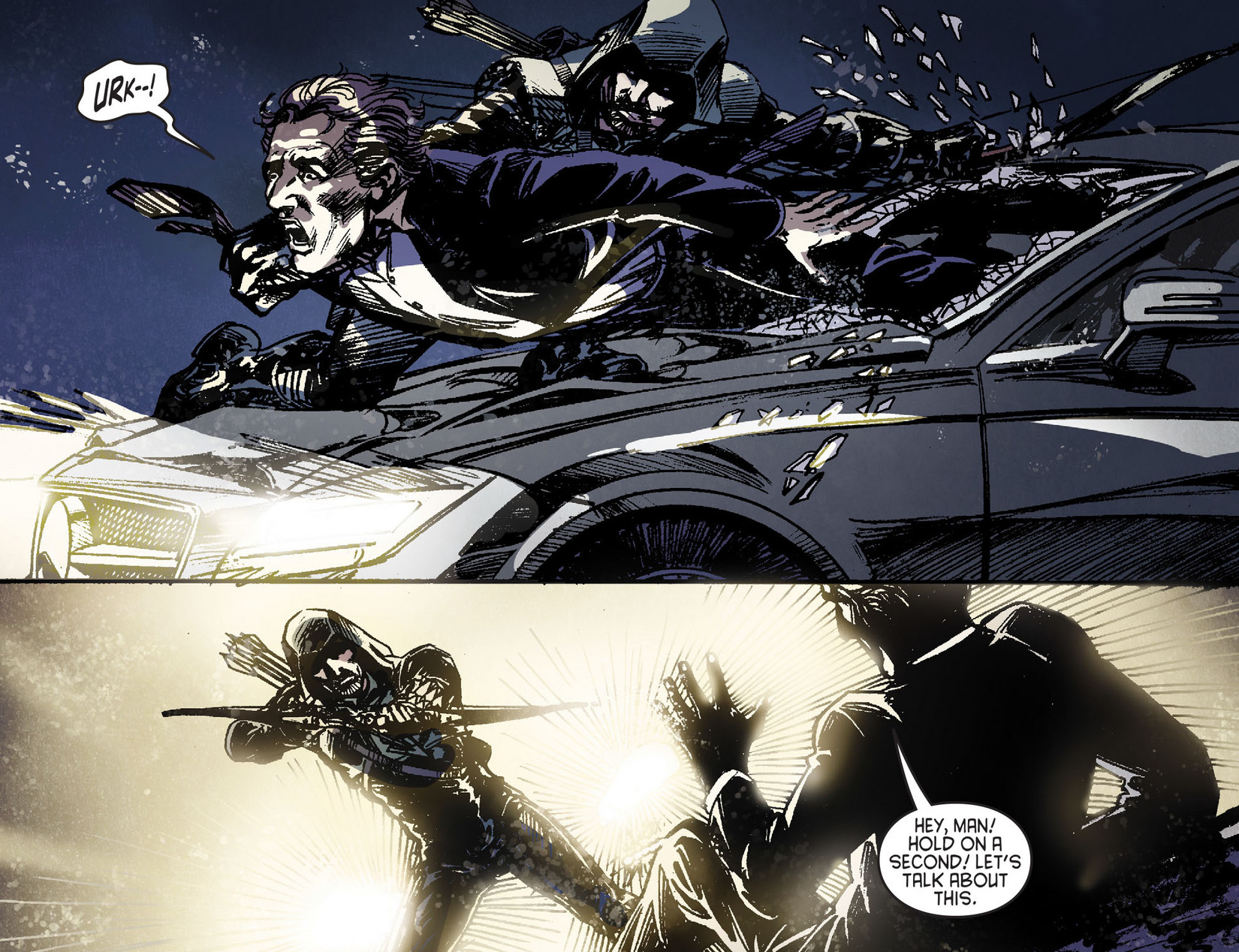Read online Arrow [II] comic -  Issue #6 - 16