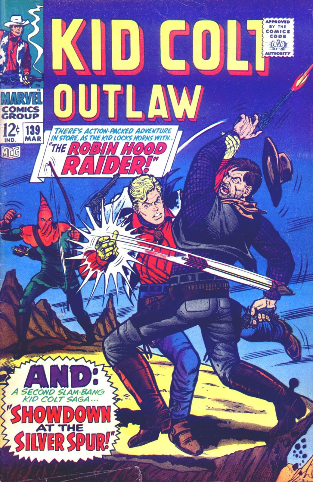 Kid Colt Outlaw issue 139 - Page 1
