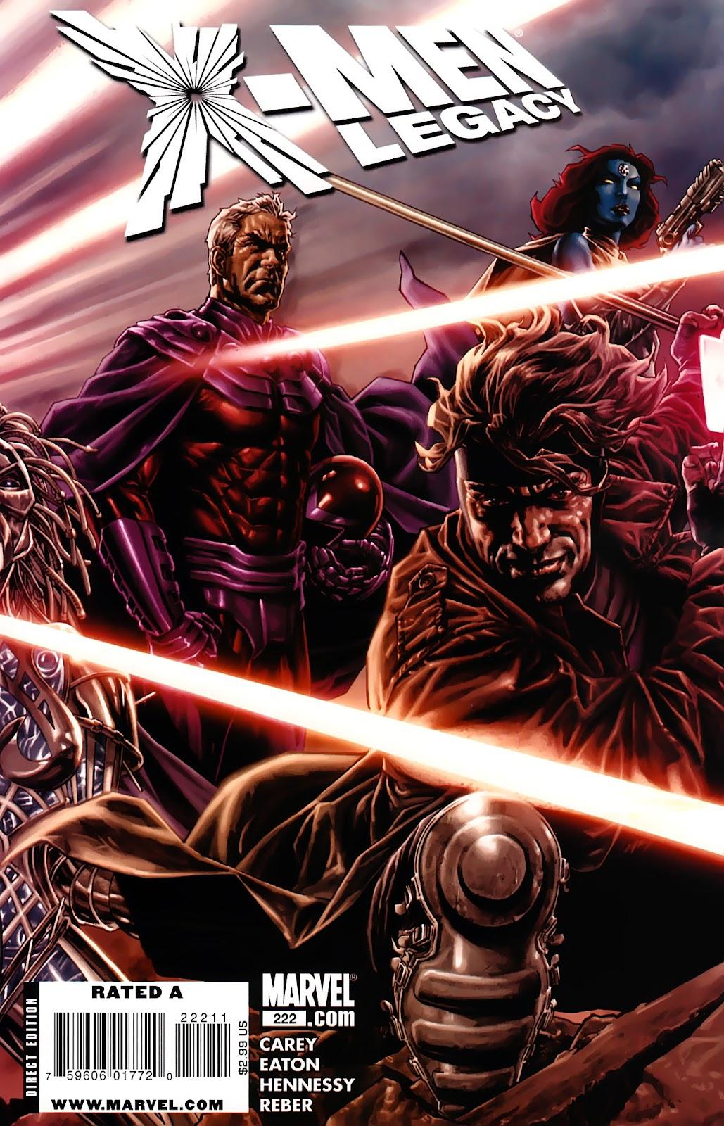 X-Men Legacy (2008) 222 Page 1