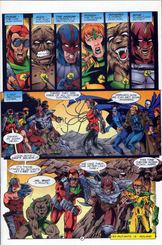 Read online Ex-Mutants comic -  Issue #18 - 6