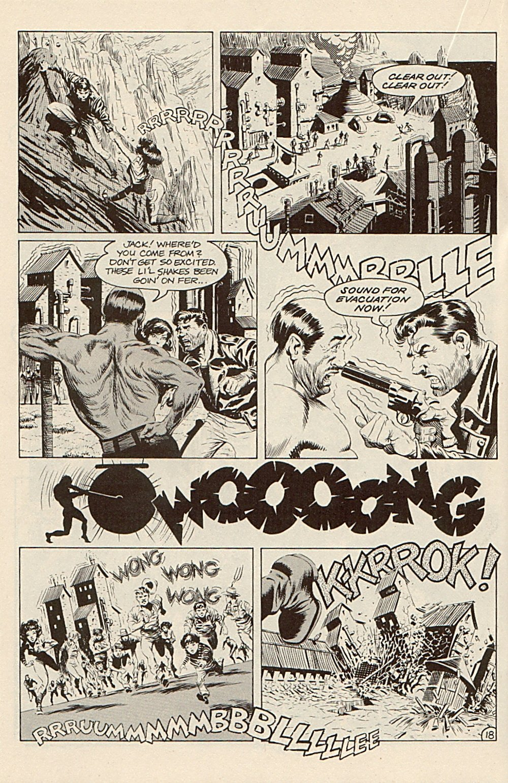 Read online Xenozoic Tales comic -  Issue #3 - 21