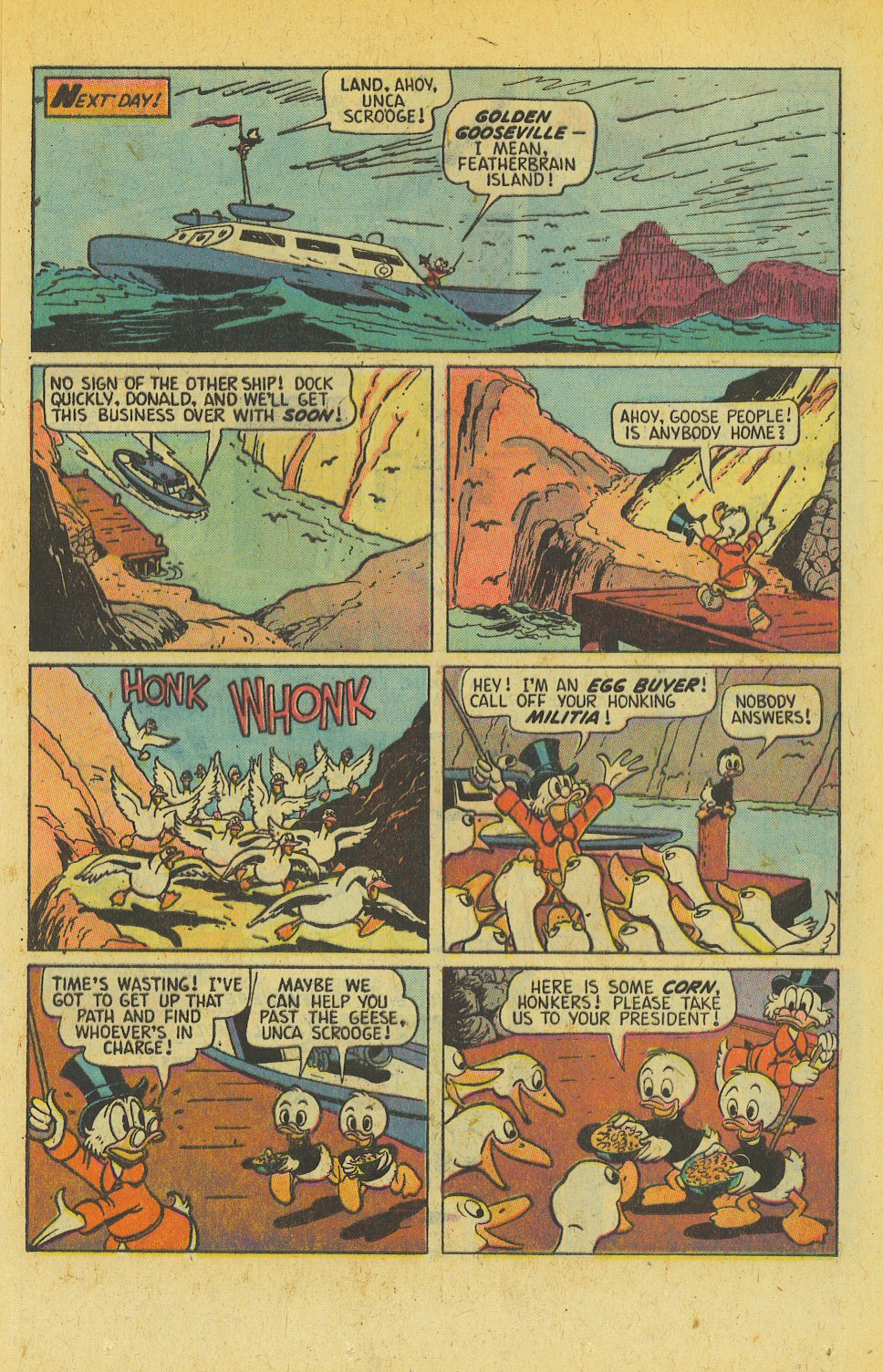 Read online Uncle Scrooge (1953) comic -  Issue #139 - 17