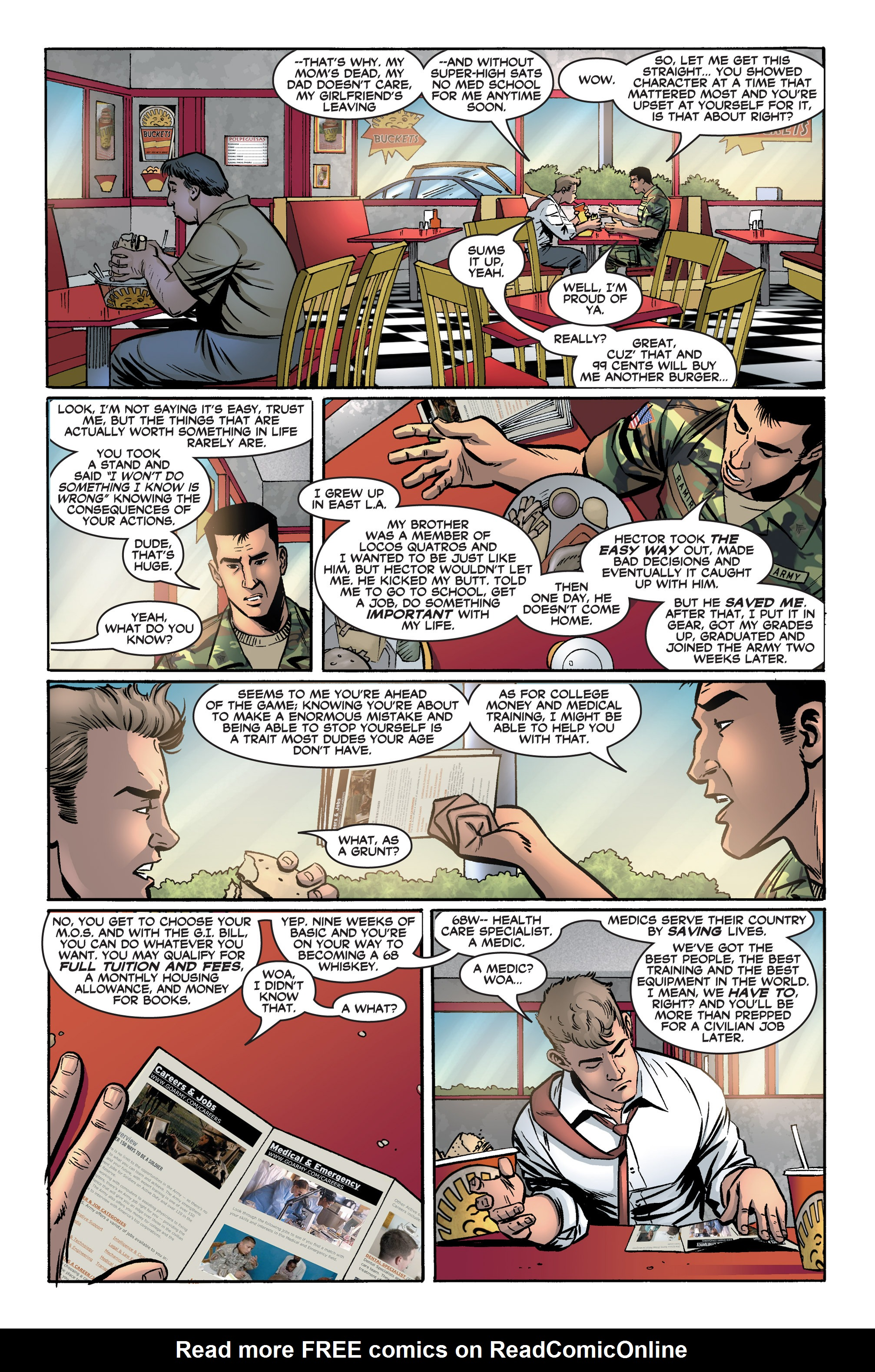 Read online America's Army comic -  Issue #2 - 9