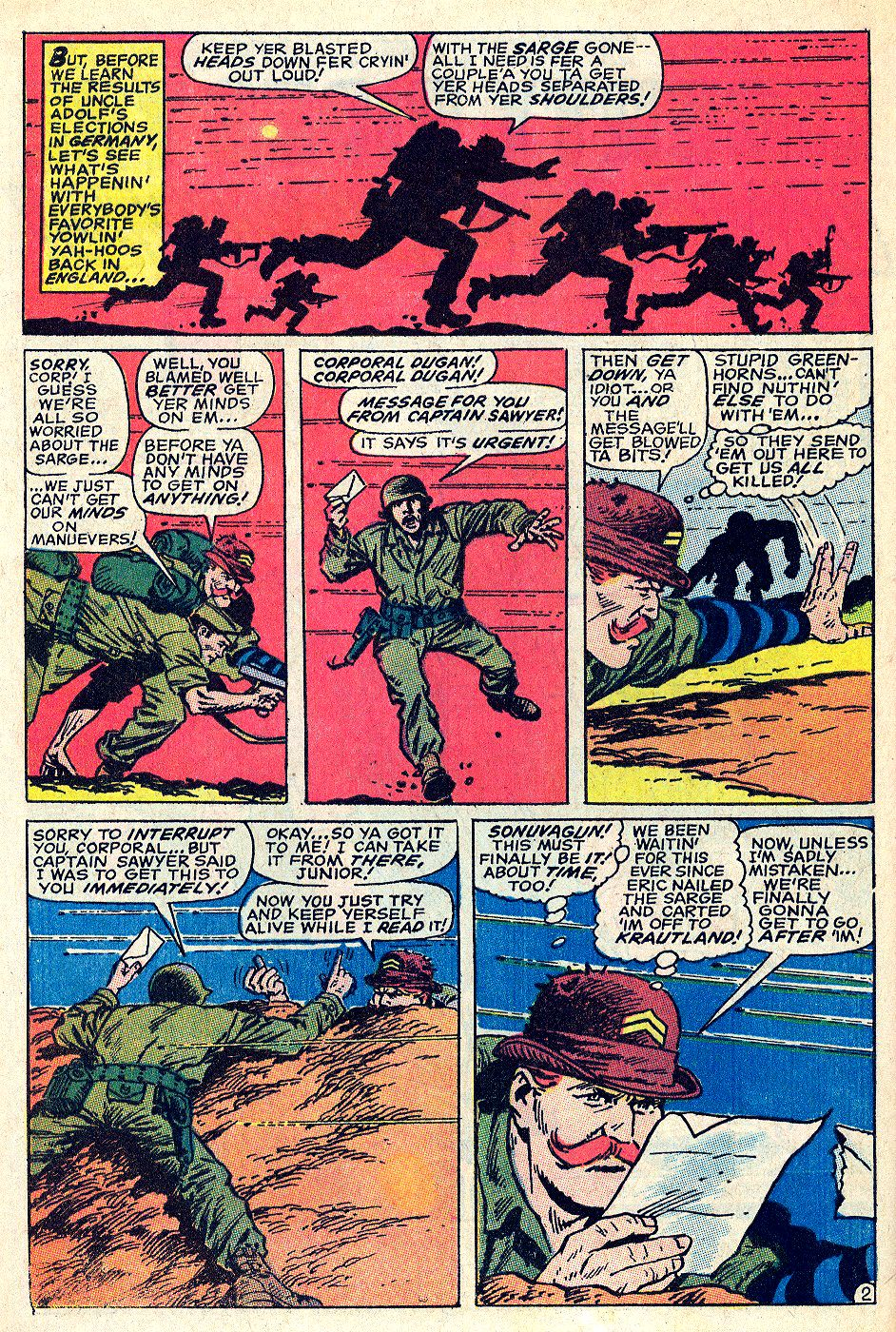 Read online Sgt. Fury comic -  Issue #66 - 4