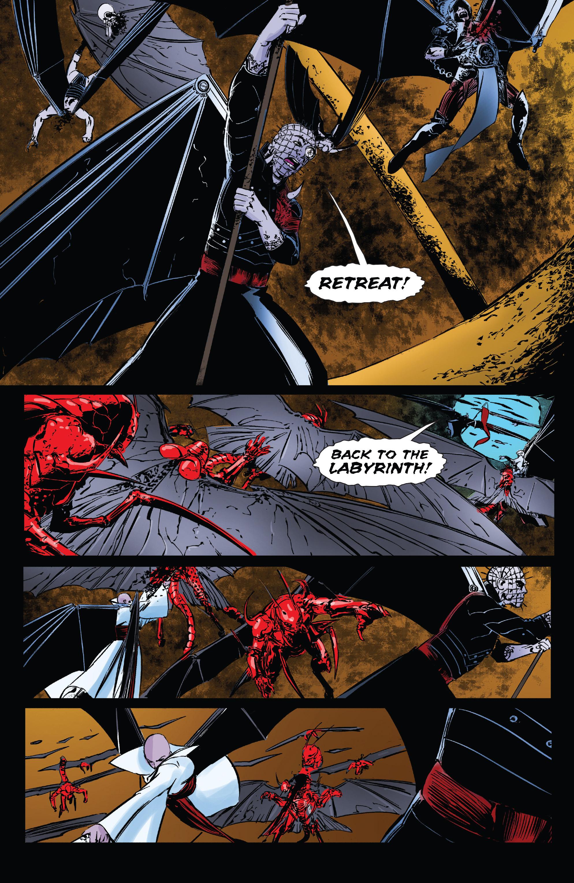 Read online Clive Barker's Hellraiser: The Dark Watch comic -  Issue # TPB 3 - 77
