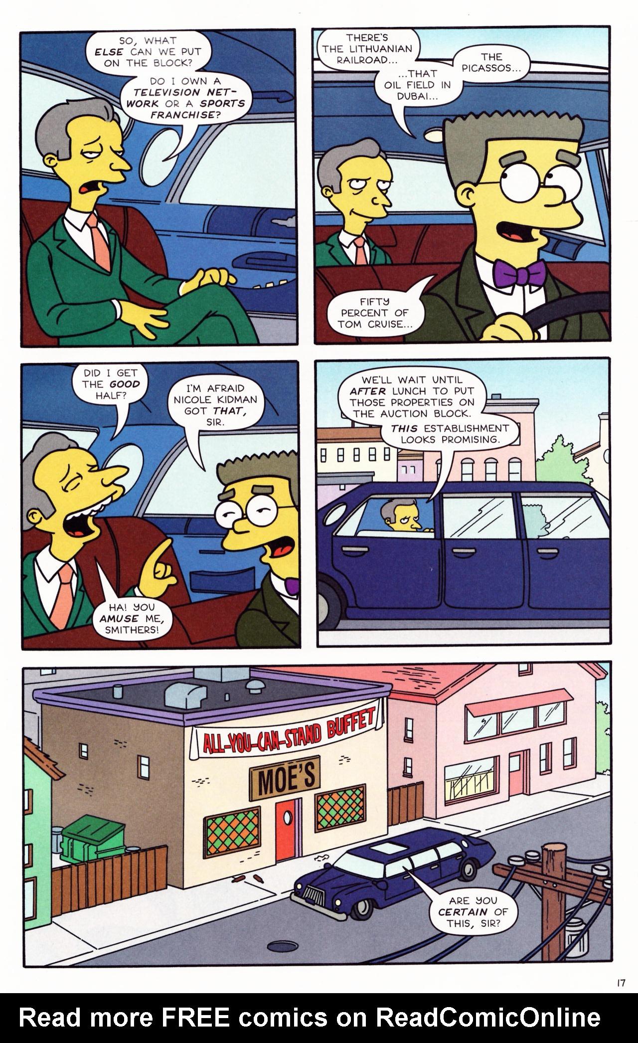 Read online Simpsons Comics comic -  Issue #132 - 15