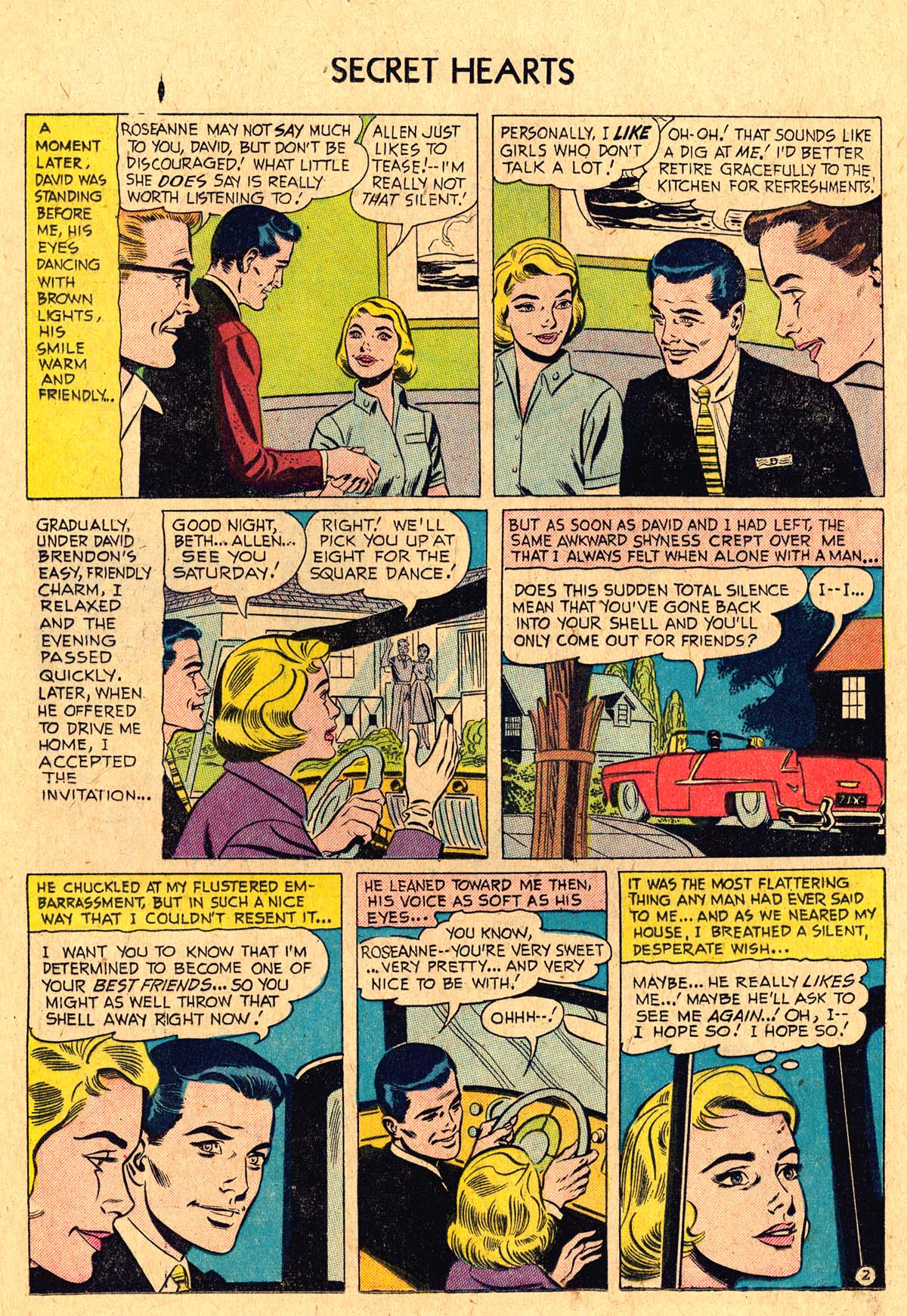 Read online Secret Hearts comic -  Issue #36 - 20