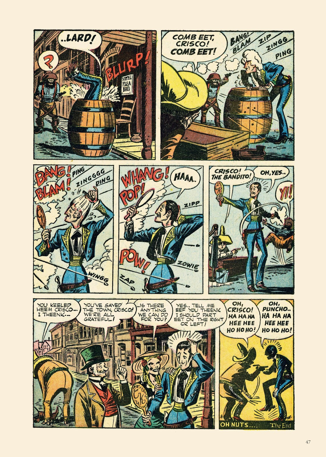 Read online Sincerest Form of Parody: The Best 1950s MAD-Inspired Satirical Comics comic -  Issue # TPB (Part 1) - 48