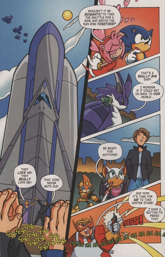 Read online Sonic X comic -  Issue #8 - 18