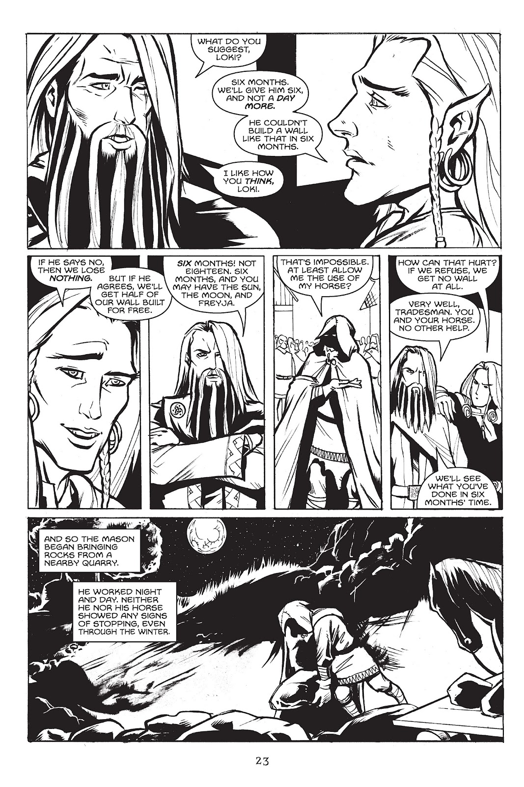 Read online Gods of Asgard comic -  Issue # TPB (Part 1) - 24