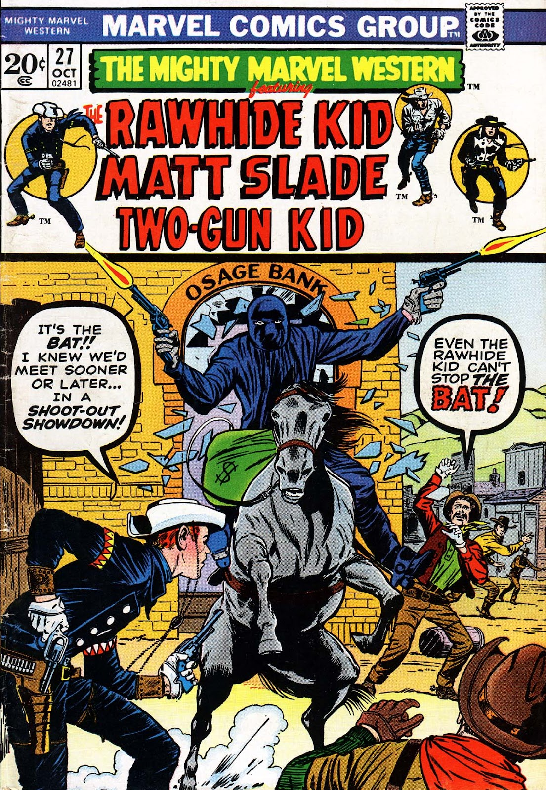 The Mighty Marvel Western issue 27 - Page 1