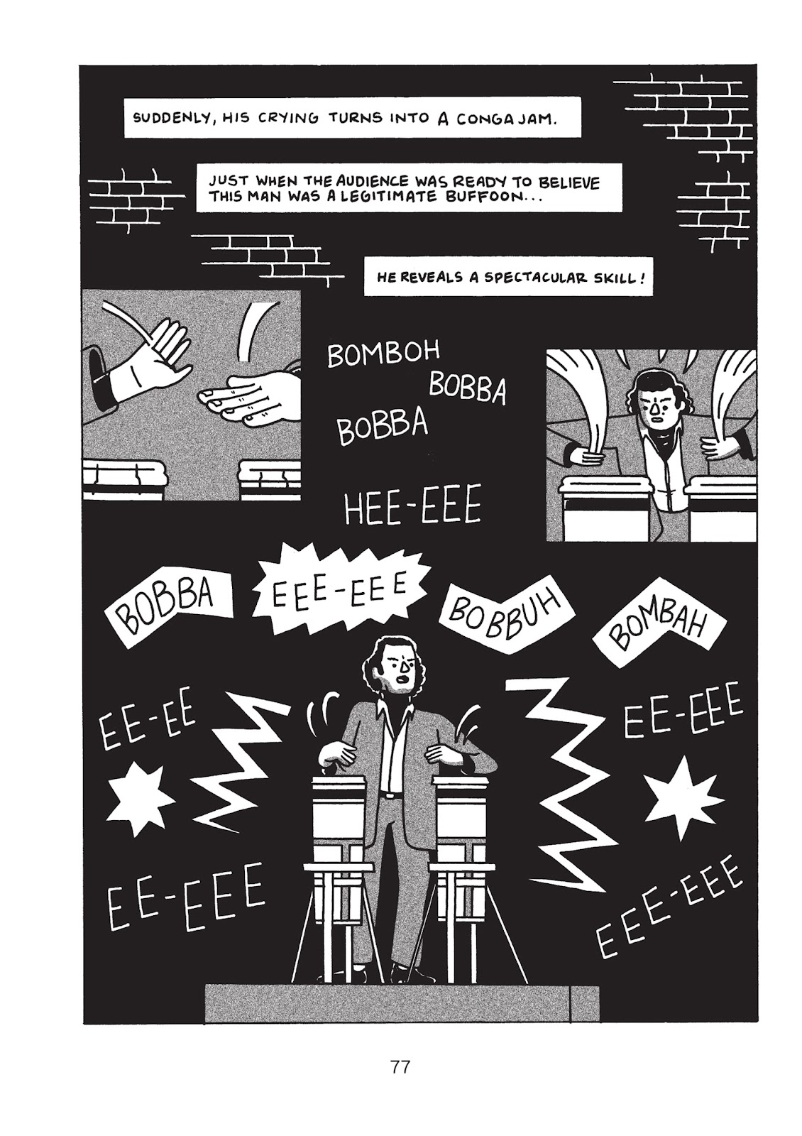 Read online Is This Guy For Real?: The Unbelievable Andy Kaufman comic -  Issue # TPB (Part 1) - 82