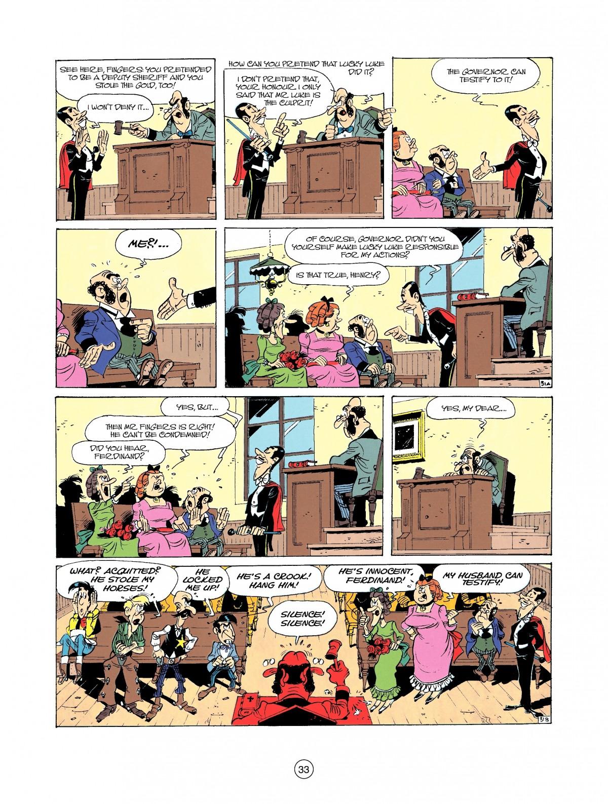 Read online A Lucky Luke Adventure comic -  Issue #37 - 33