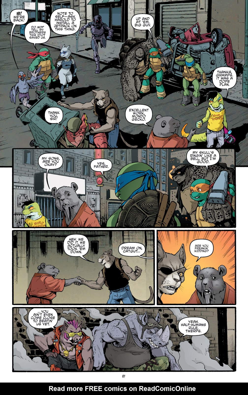 Read online Teenage Mutant Ninja Turtles: The IDW Collection comic -  Issue # TPB 5 (Part 2) - 65