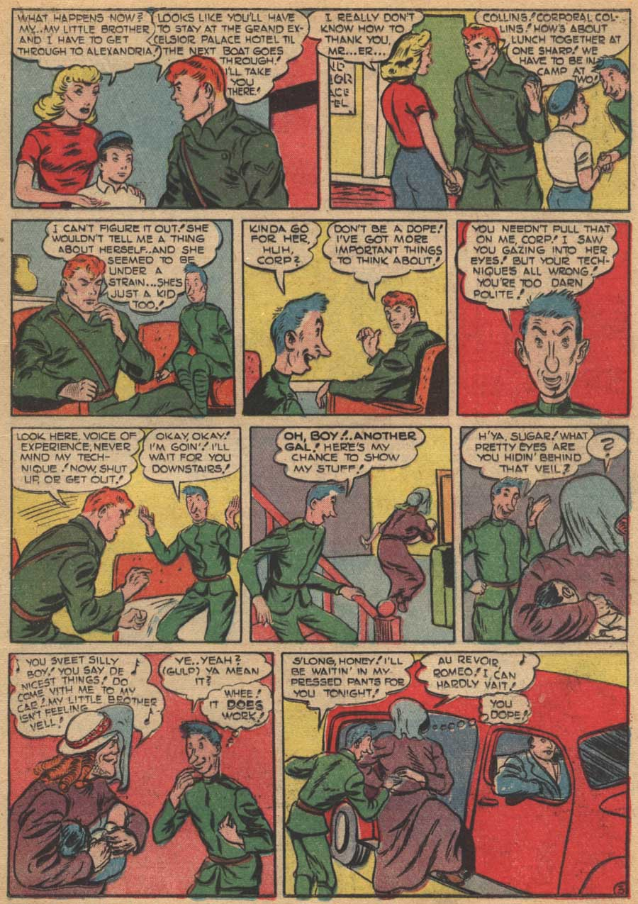 Blue Ribbon Comics (1939) issue 16 - Page 33