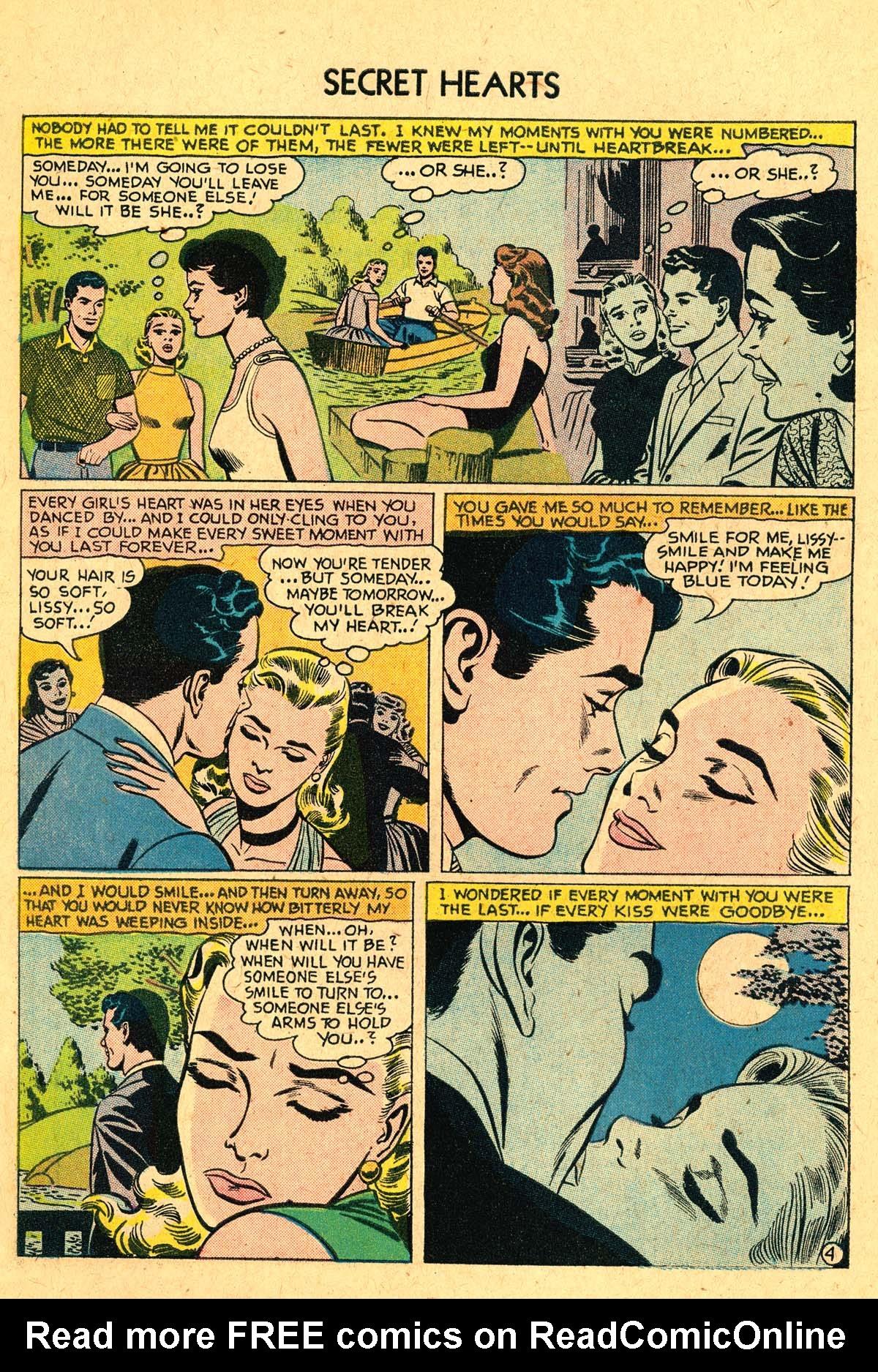 Read online Secret Hearts comic -  Issue #40 - 6