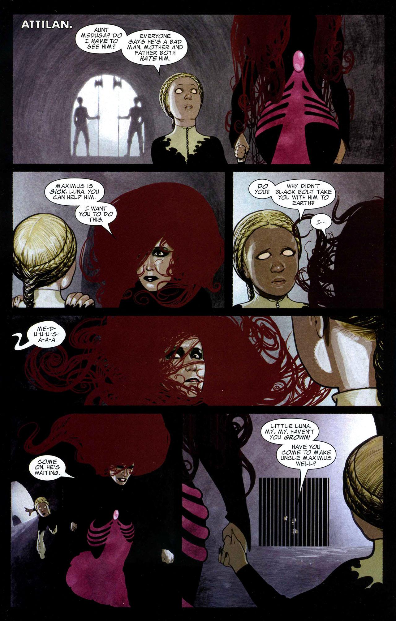 Read online Silent War comic -  Issue #5 - 13