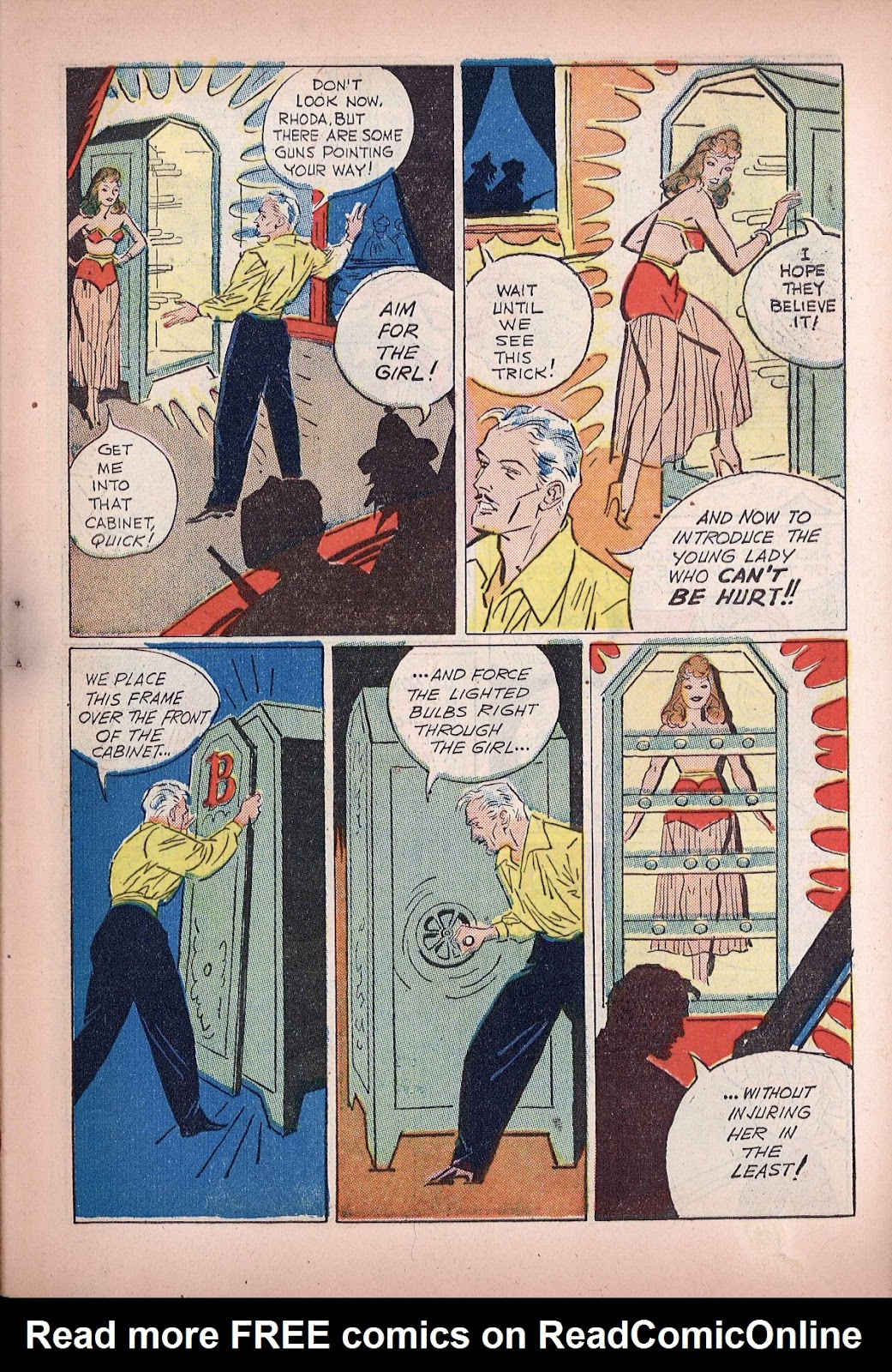 Read online Super-Magician Comics comic -  Issue #20 - 11