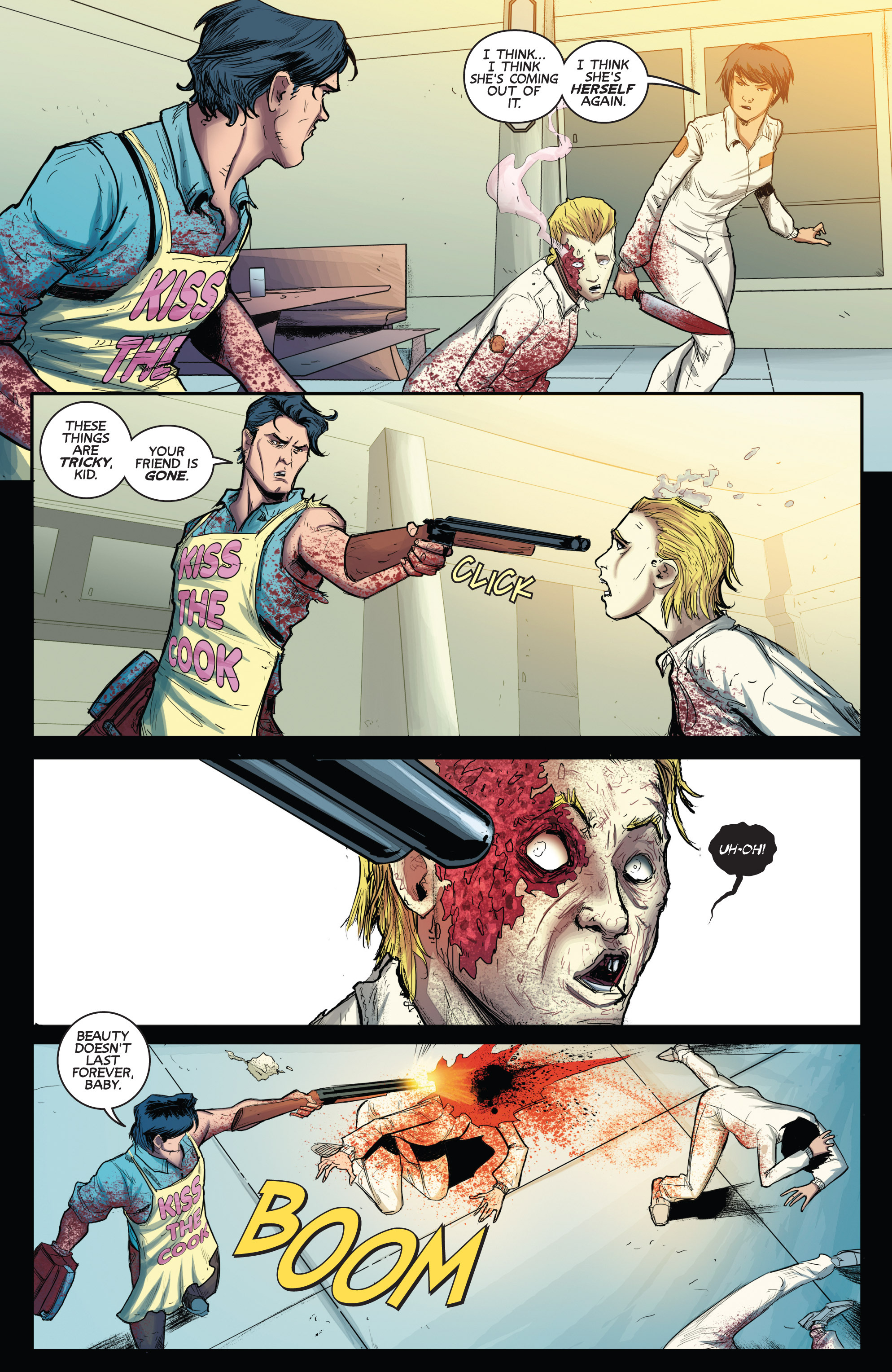 Read online Army of Darkness (2014) comic -  Issue #3 - 10