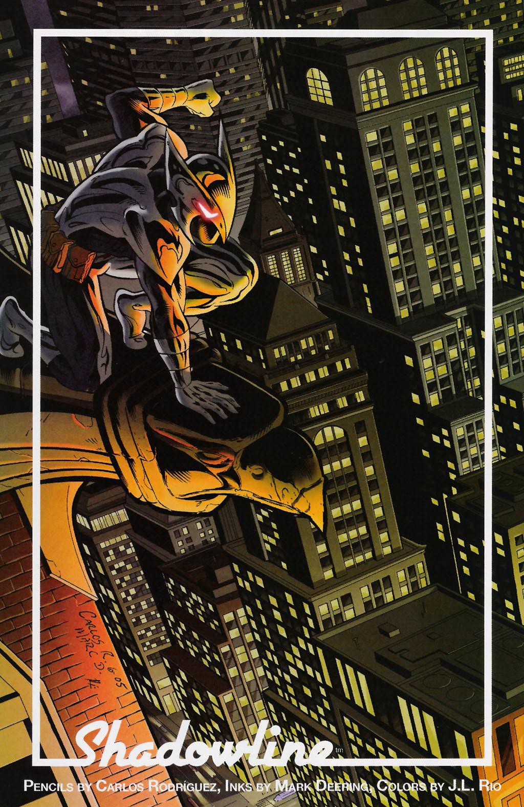 Read online ShadowHawk (2005) comic -  Issue #7 - 26