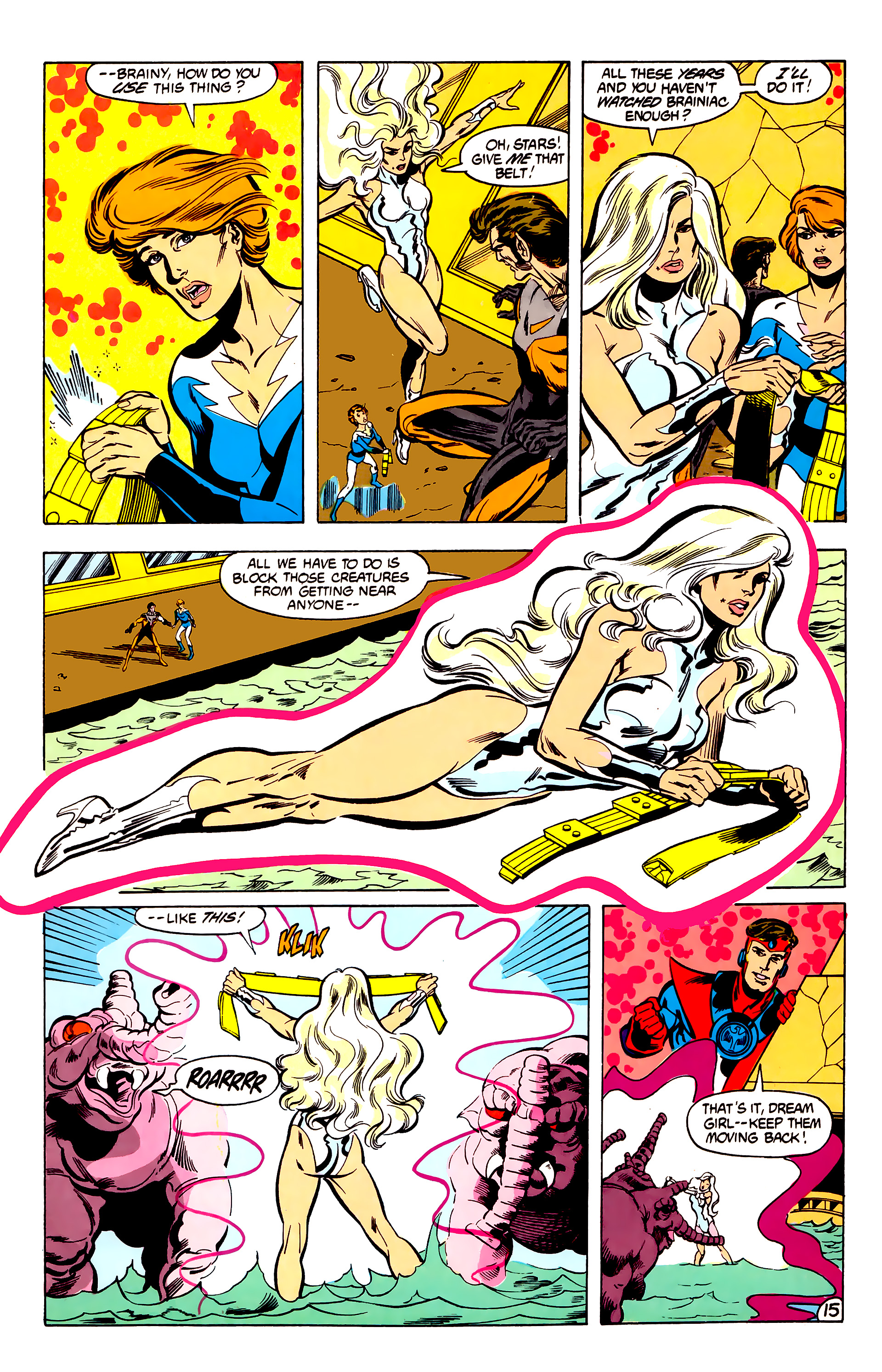 Legion of Super-Heroes (1984) 30 Page 15