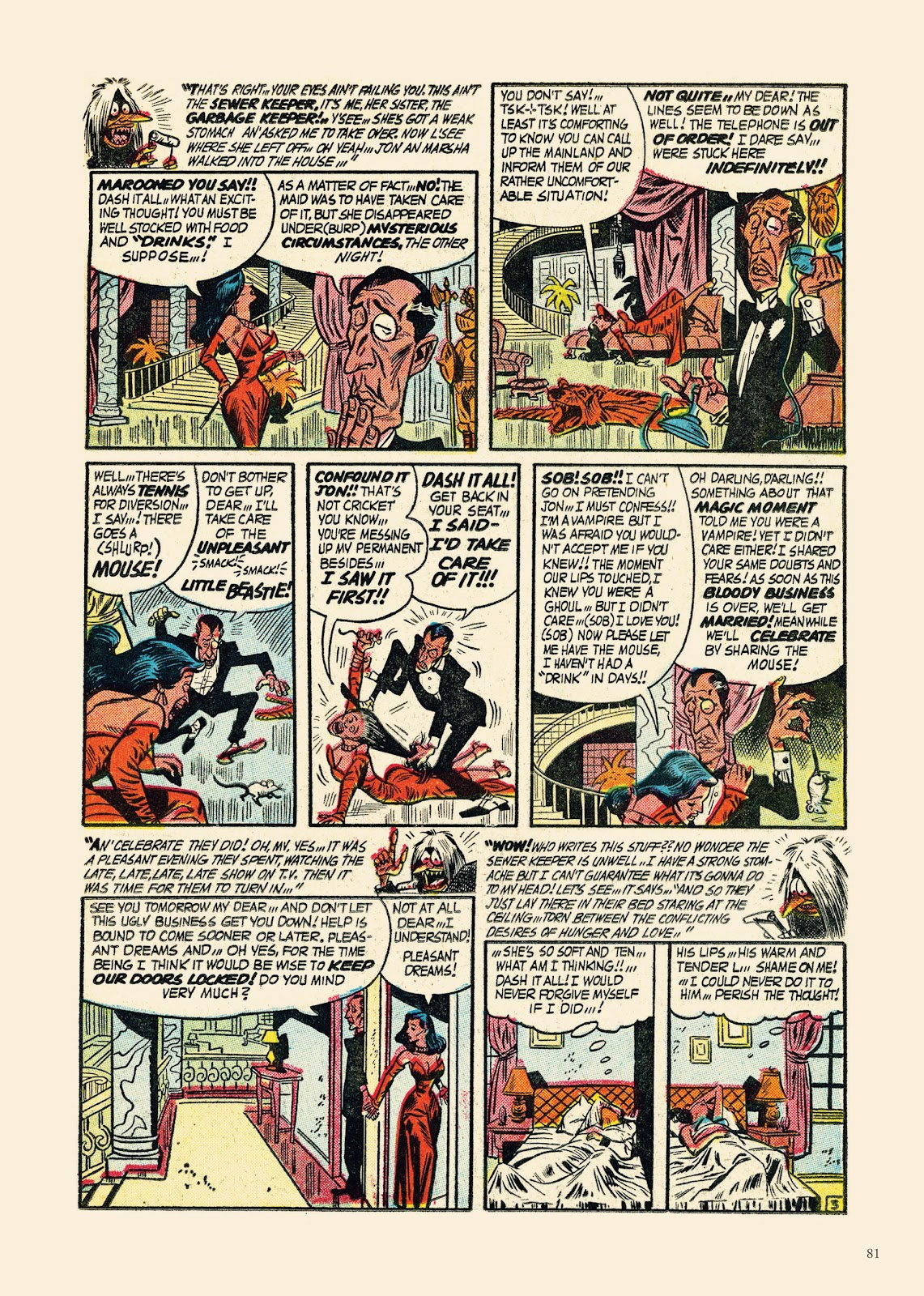 Read online Sincerest Form of Parody: The Best 1950s MAD-Inspired Satirical Comics comic -  Issue # TPB (Part 1) - 82