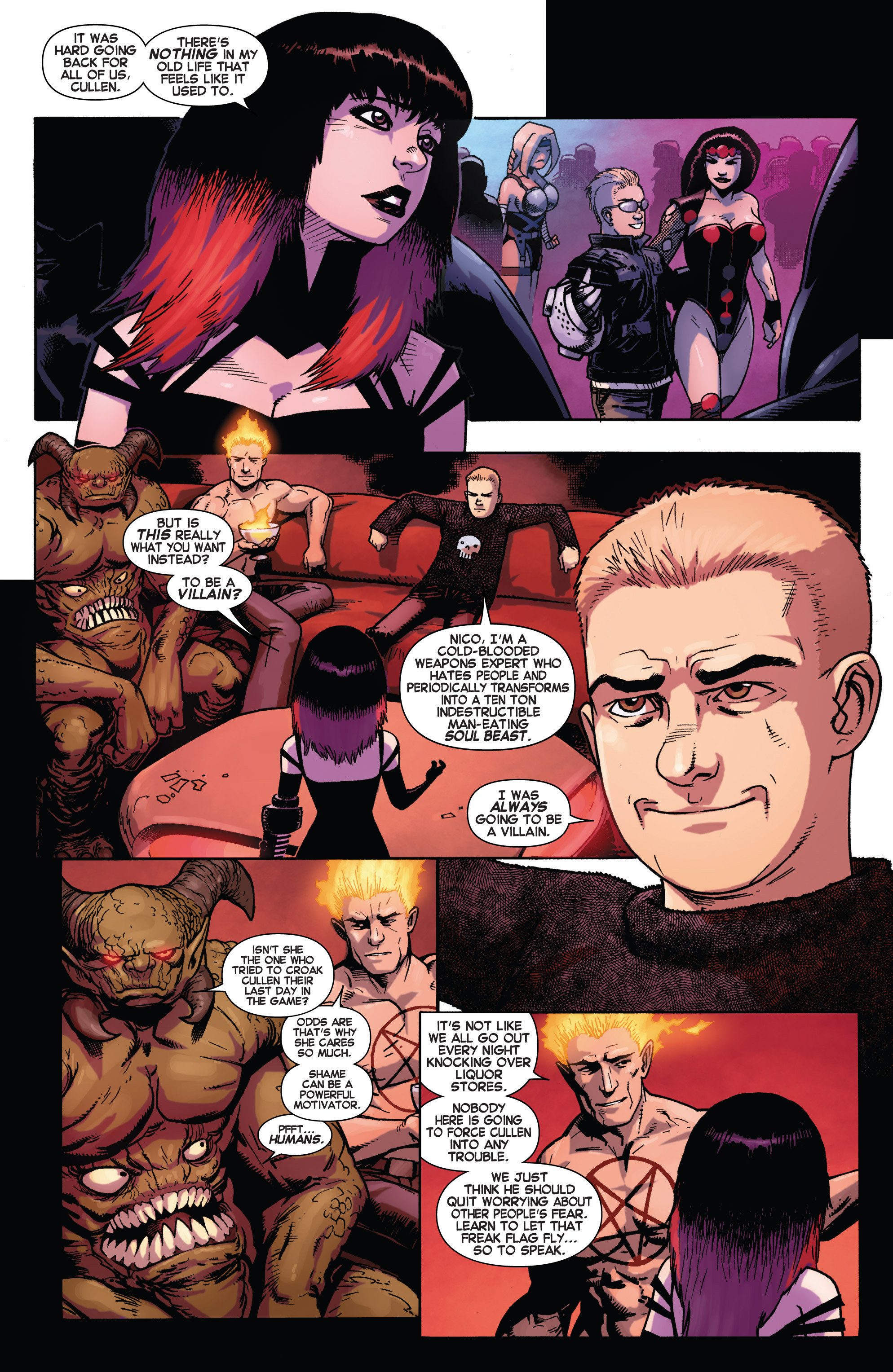 Read online Avengers Undercover comic -  Issue #2 - 13