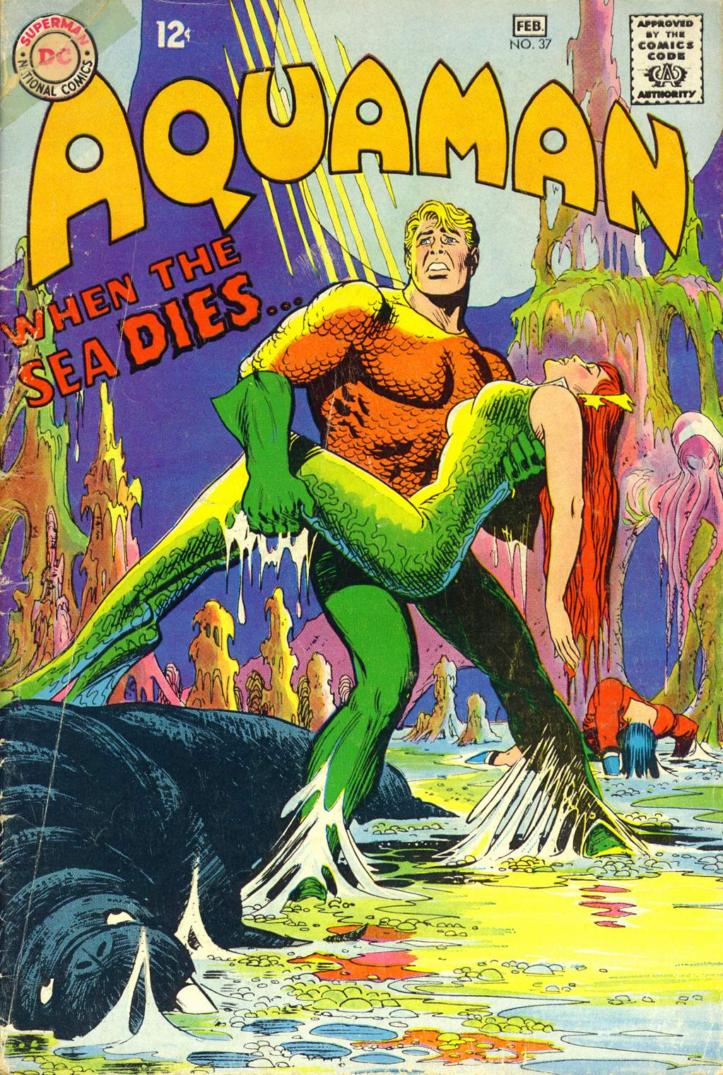 Read online Aquaman (1962) comic -  Issue #37 - 1