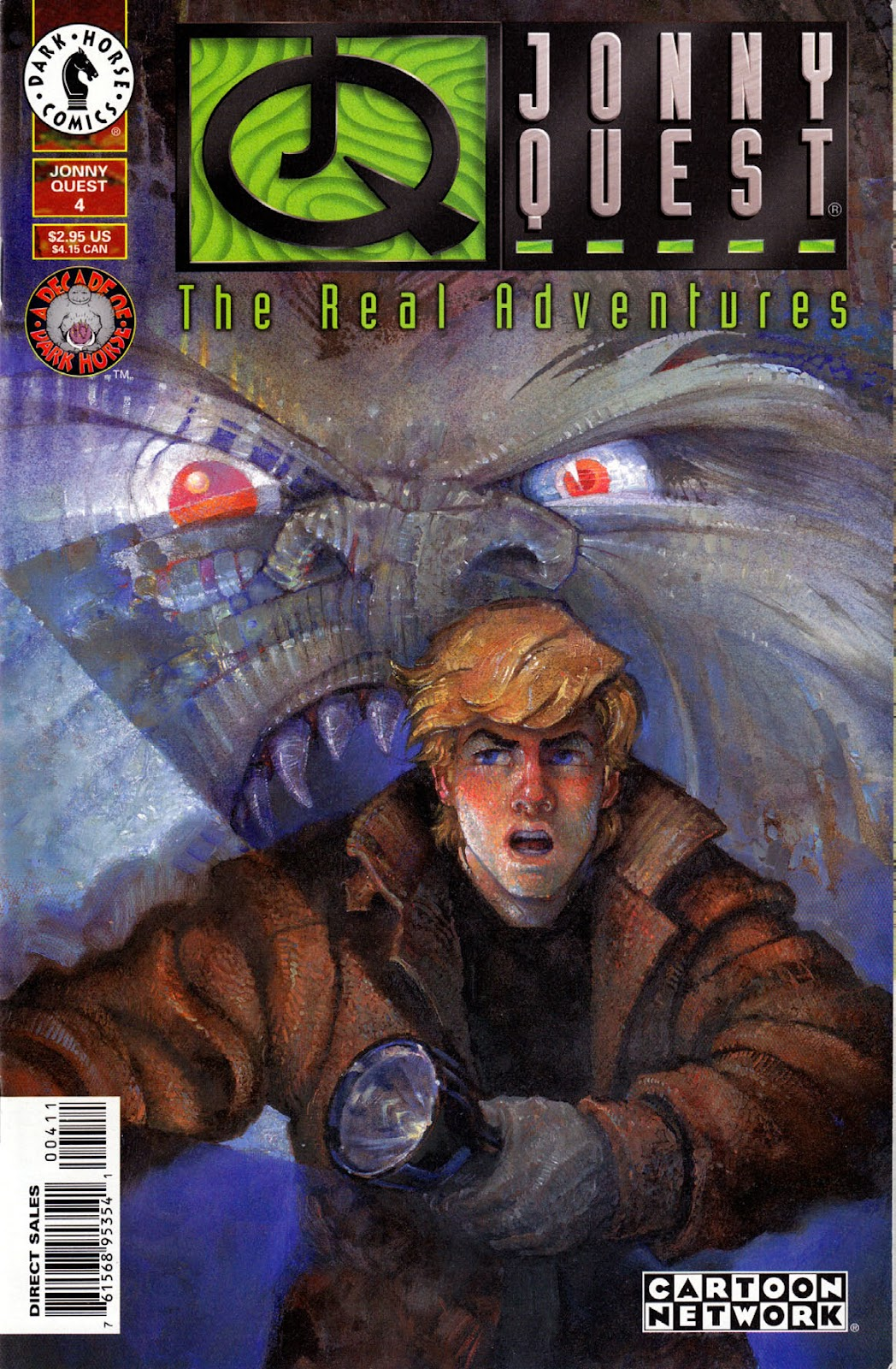 Read online The Real Adventures of Jonny Quest comic -  Issue #4 - 1