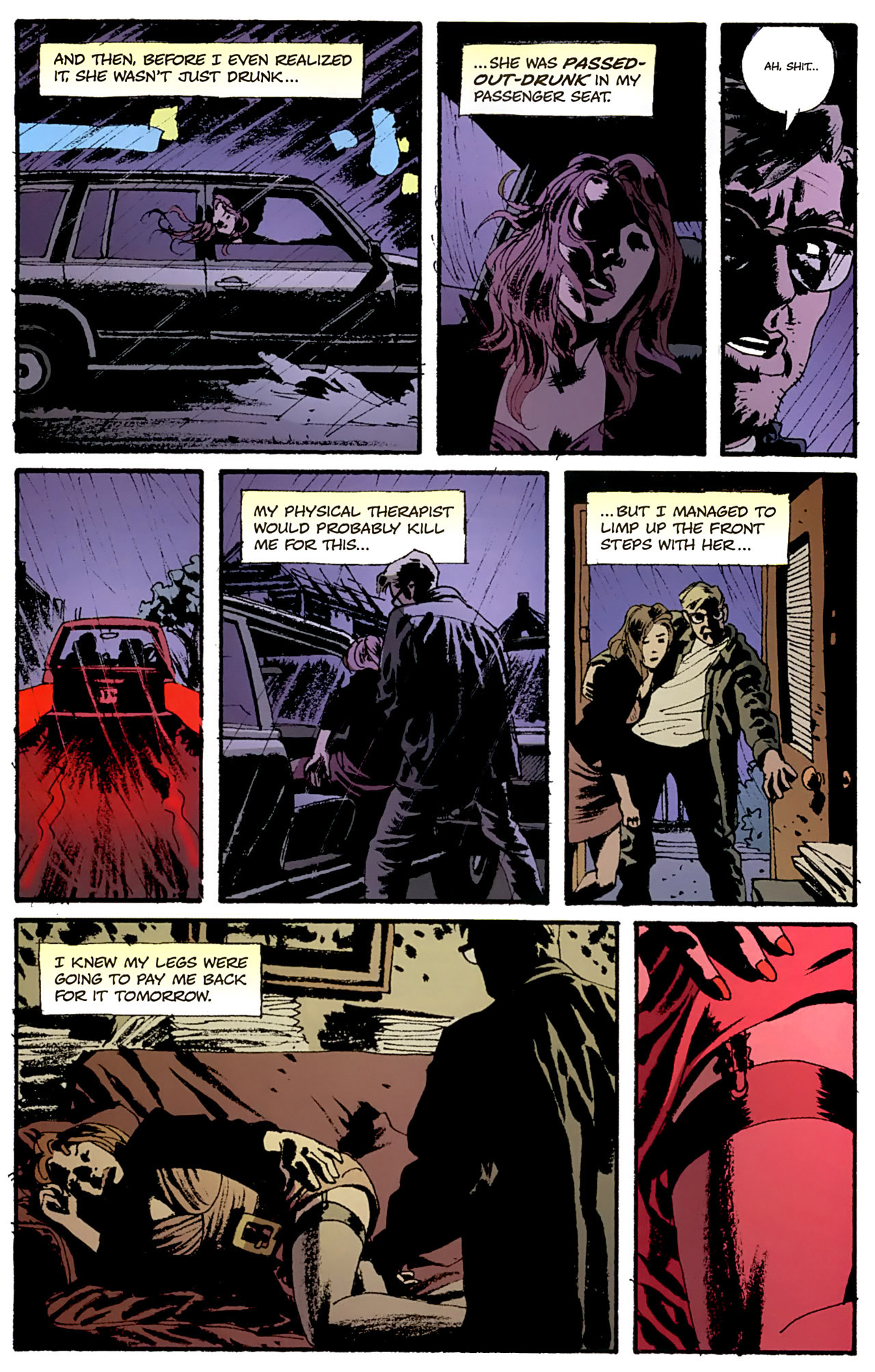 Read online Criminal (2008) comic -  Issue #4 - 18
