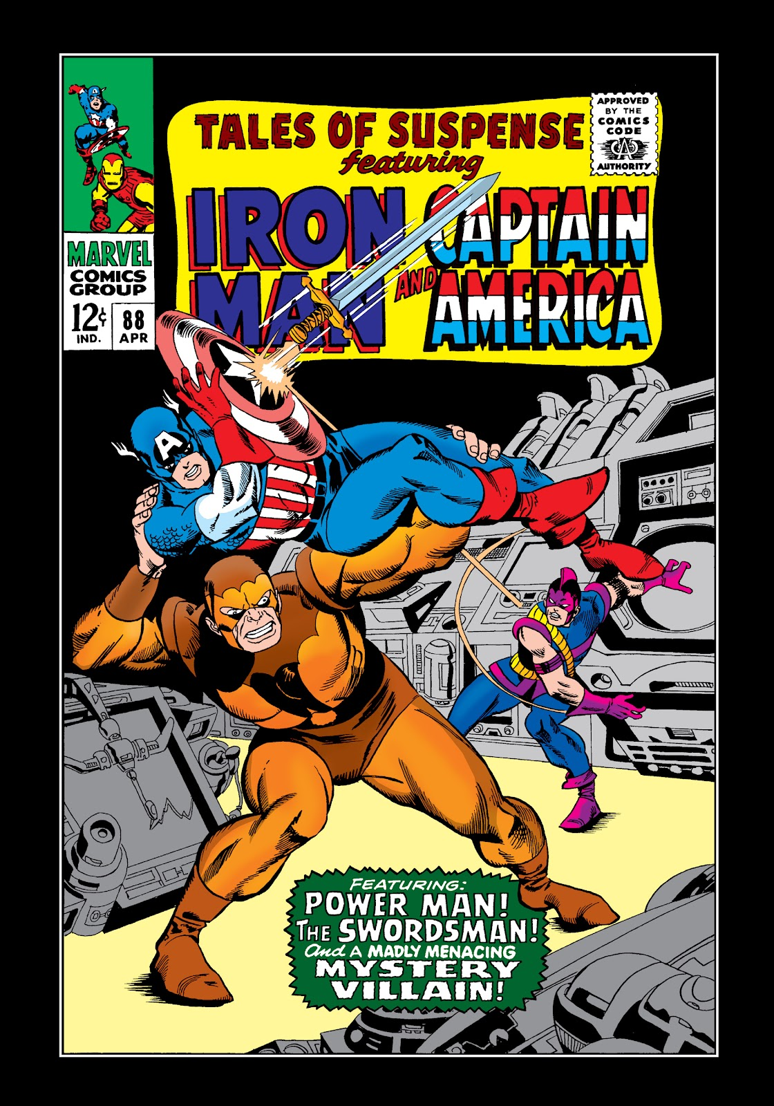 Read online Marvel Masterworks: The Invincible Iron Man comic -  Issue # TPB 4 (Part 1) - 58