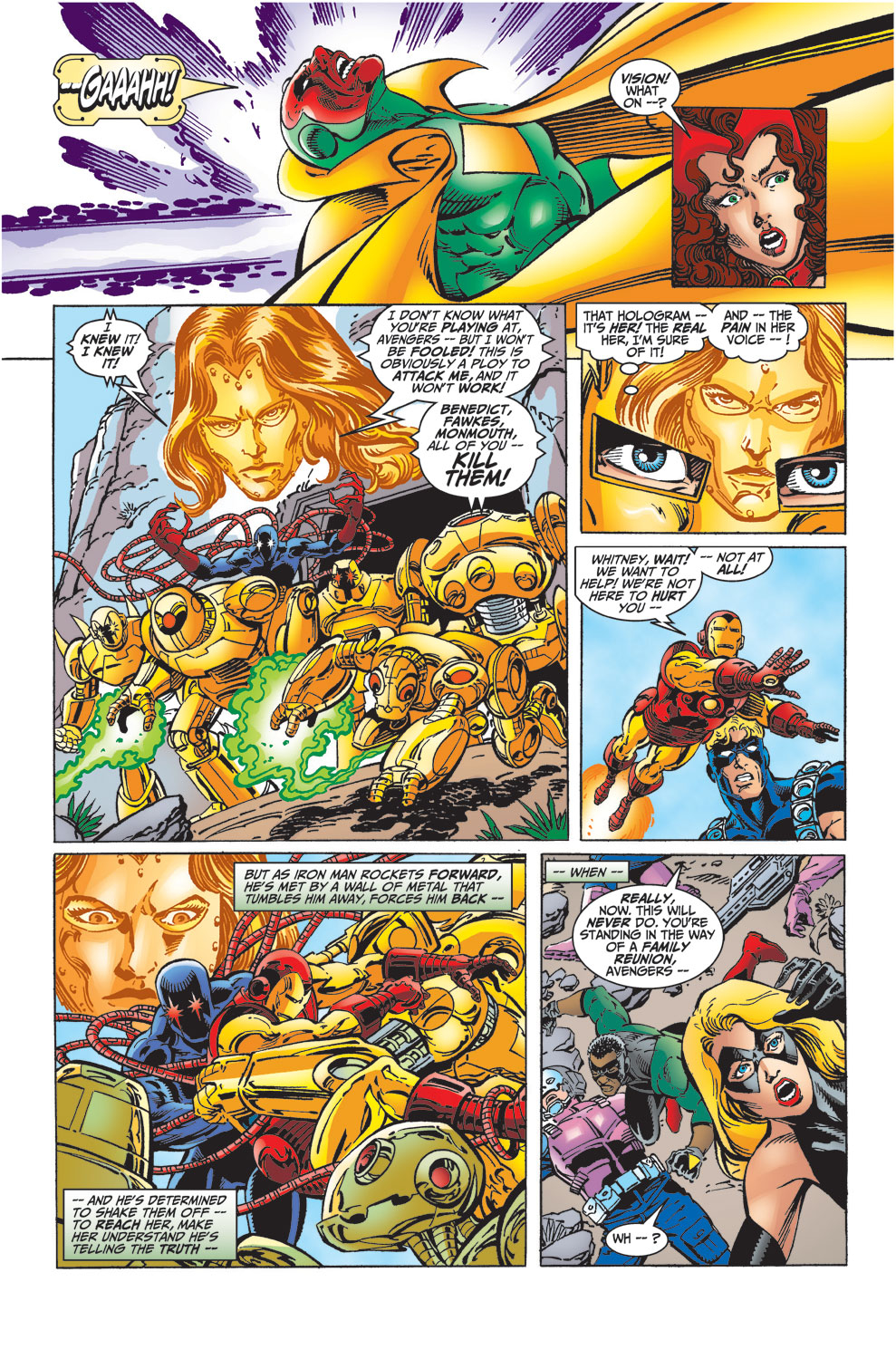 Read online Avengers (1998) comic -  Issue #32 - 22